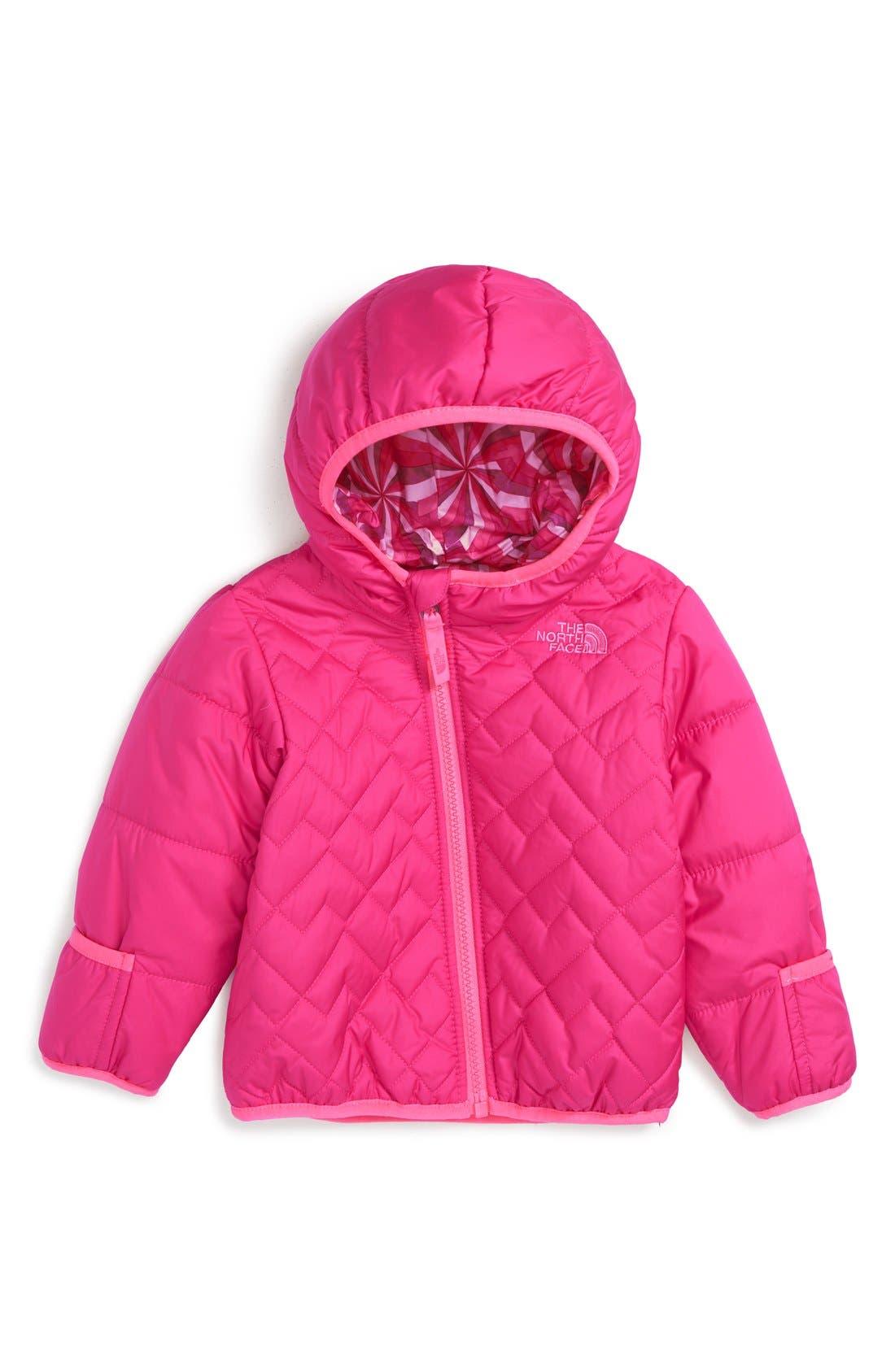 'Perrito' Reversible Water Repellent Hooded Jacket,                             Main thumbnail 5, color,