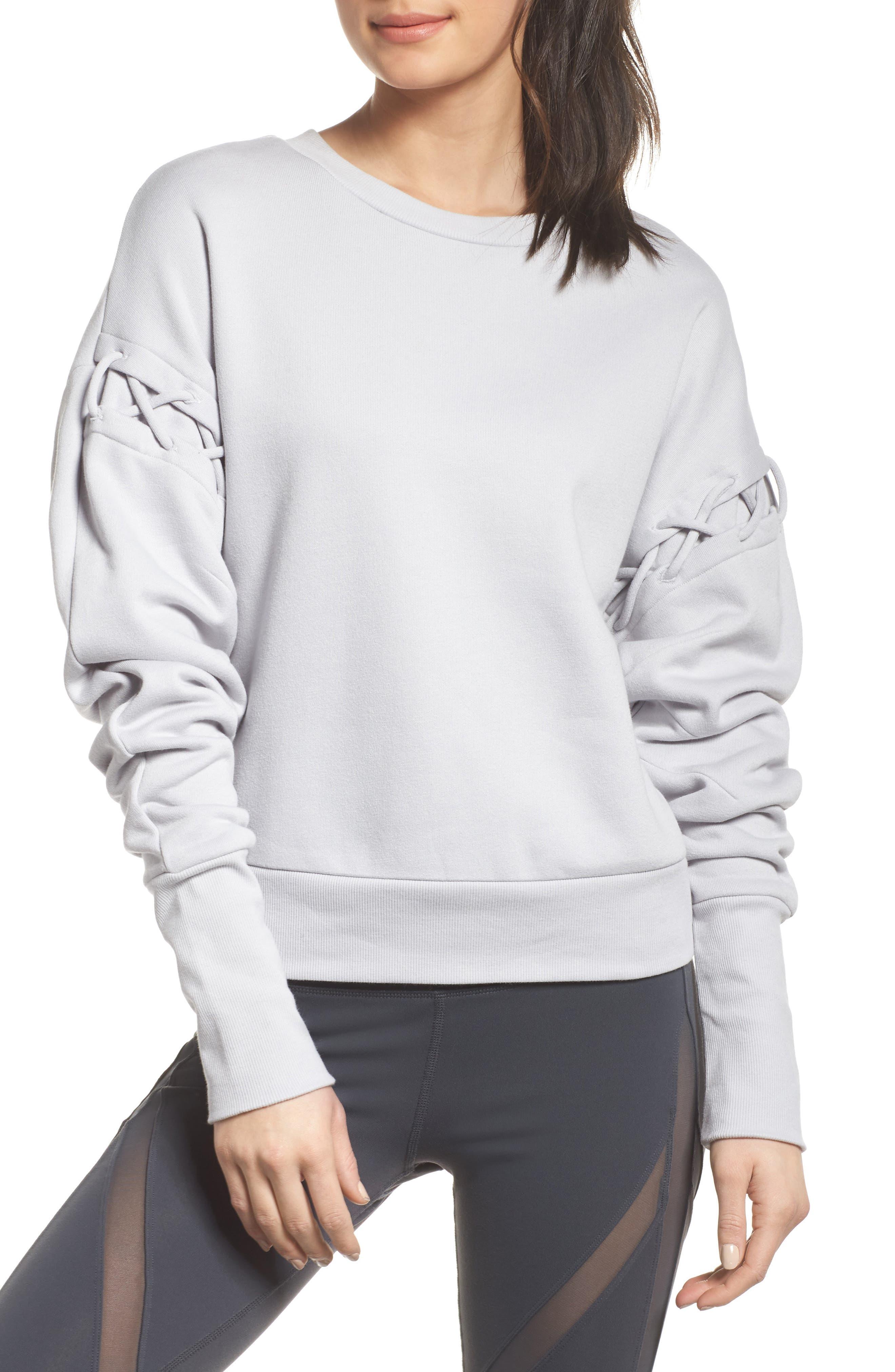 Lattice Long Sleeve Pullover,                             Main thumbnail 2, color,