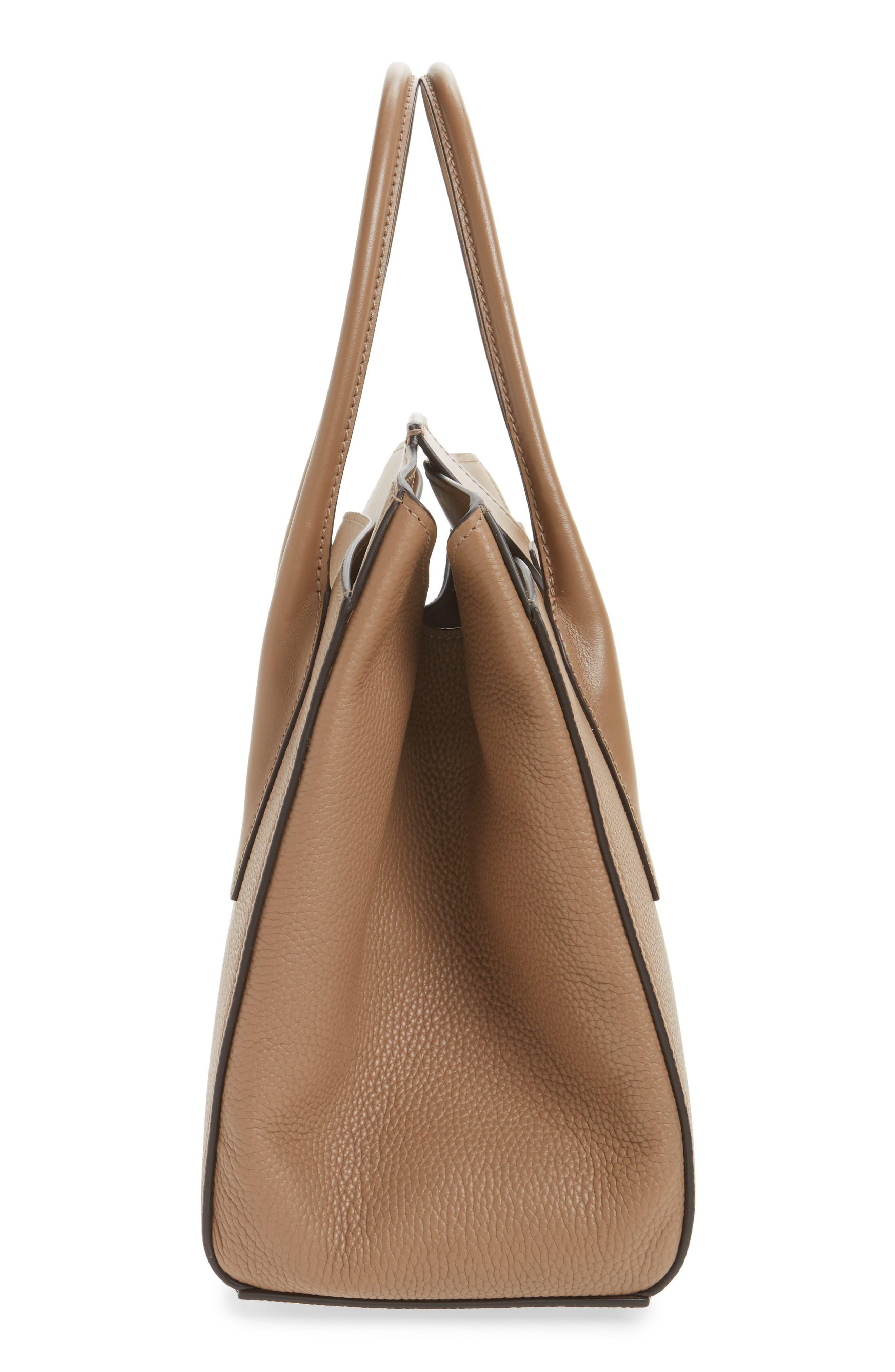 Large Bancroft Leather Top Handle Satchel,                             Alternate thumbnail 14, color,
