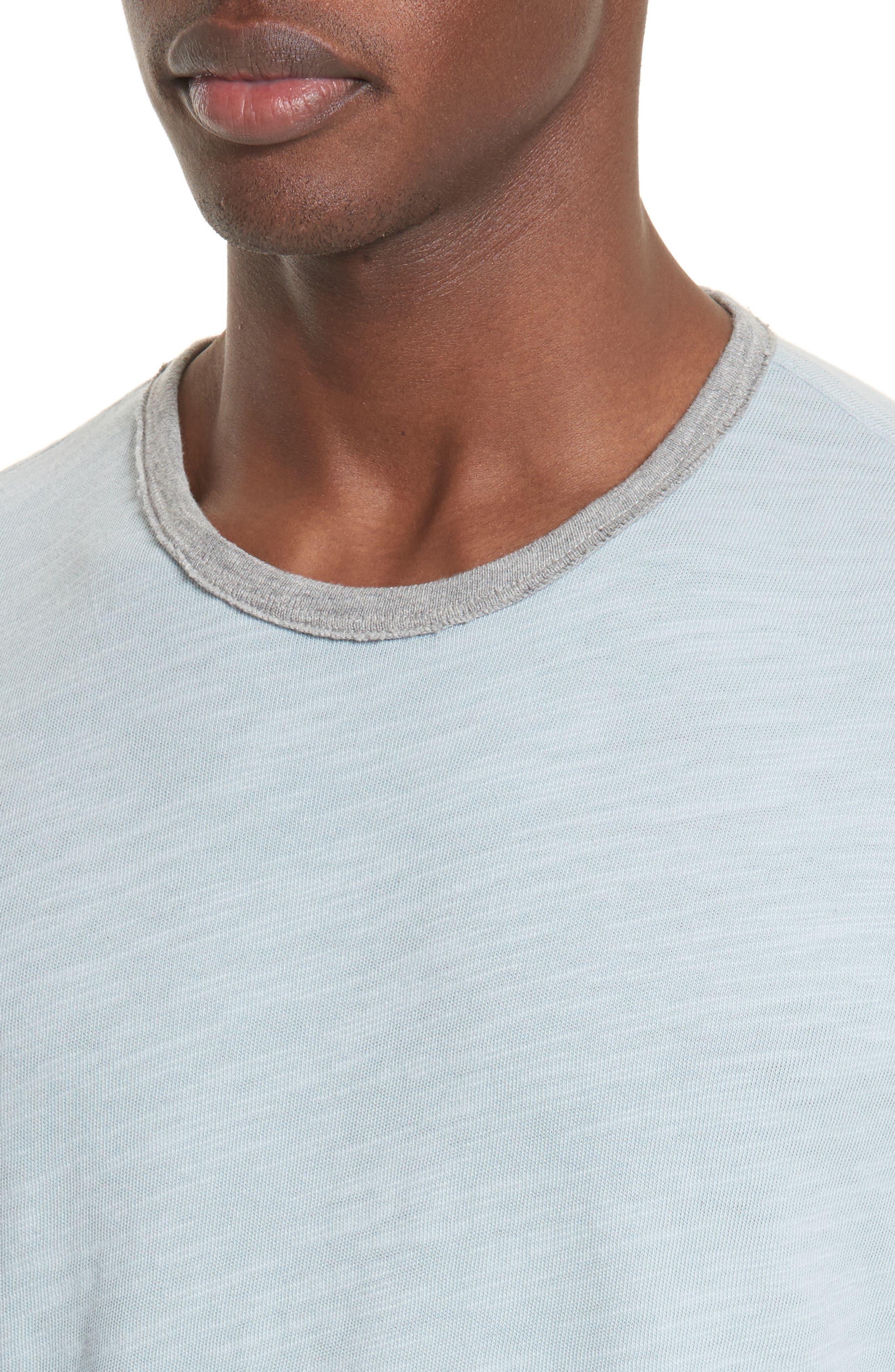 Slub Cotton Jersey T-Shirt,                             Alternate thumbnail 4, color,                             450