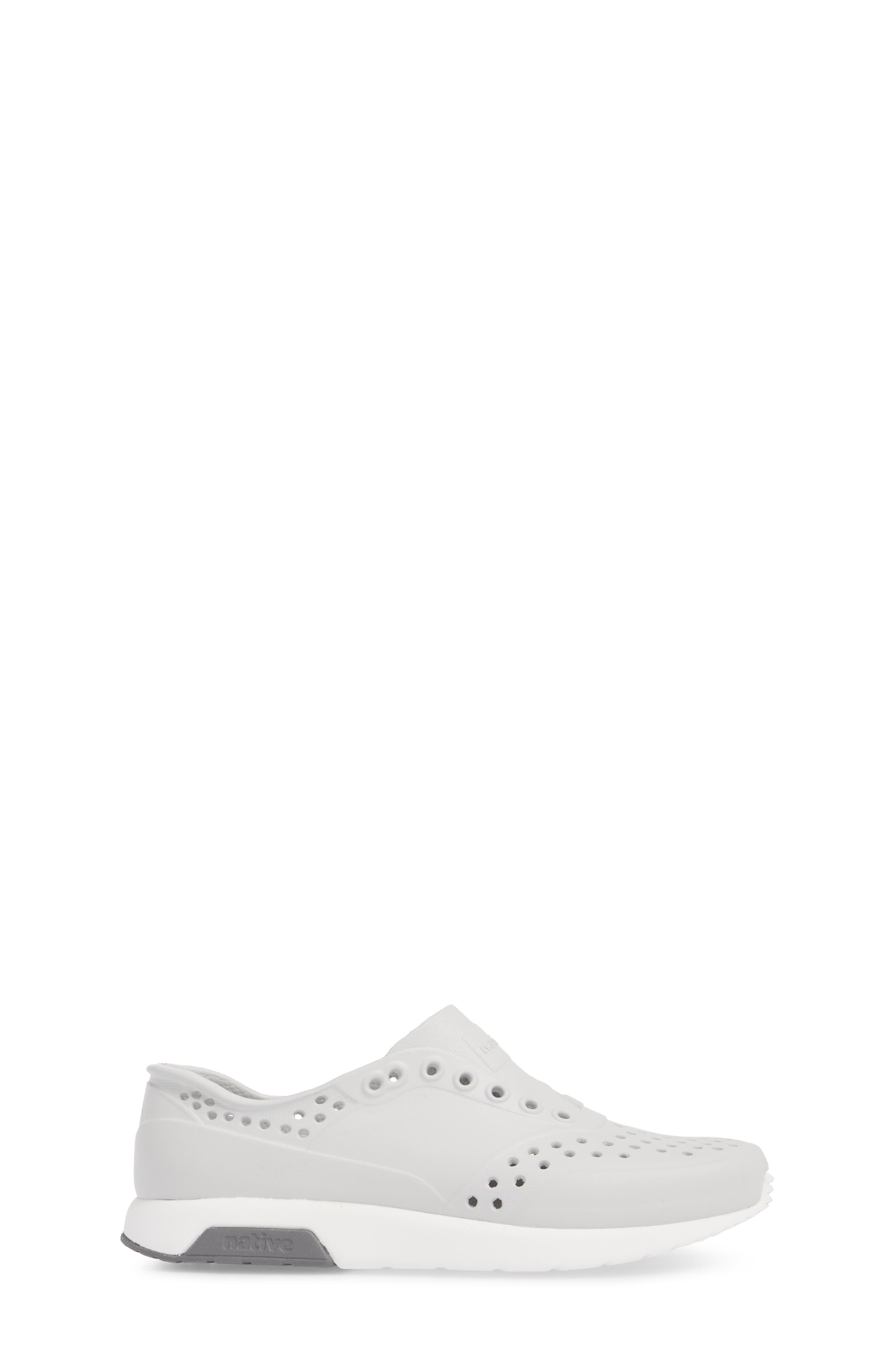 Lennox Slip-On Sneaker,                             Alternate thumbnail 3, color,                             MIST GREY/ WHITE/ DUBLIN GREY