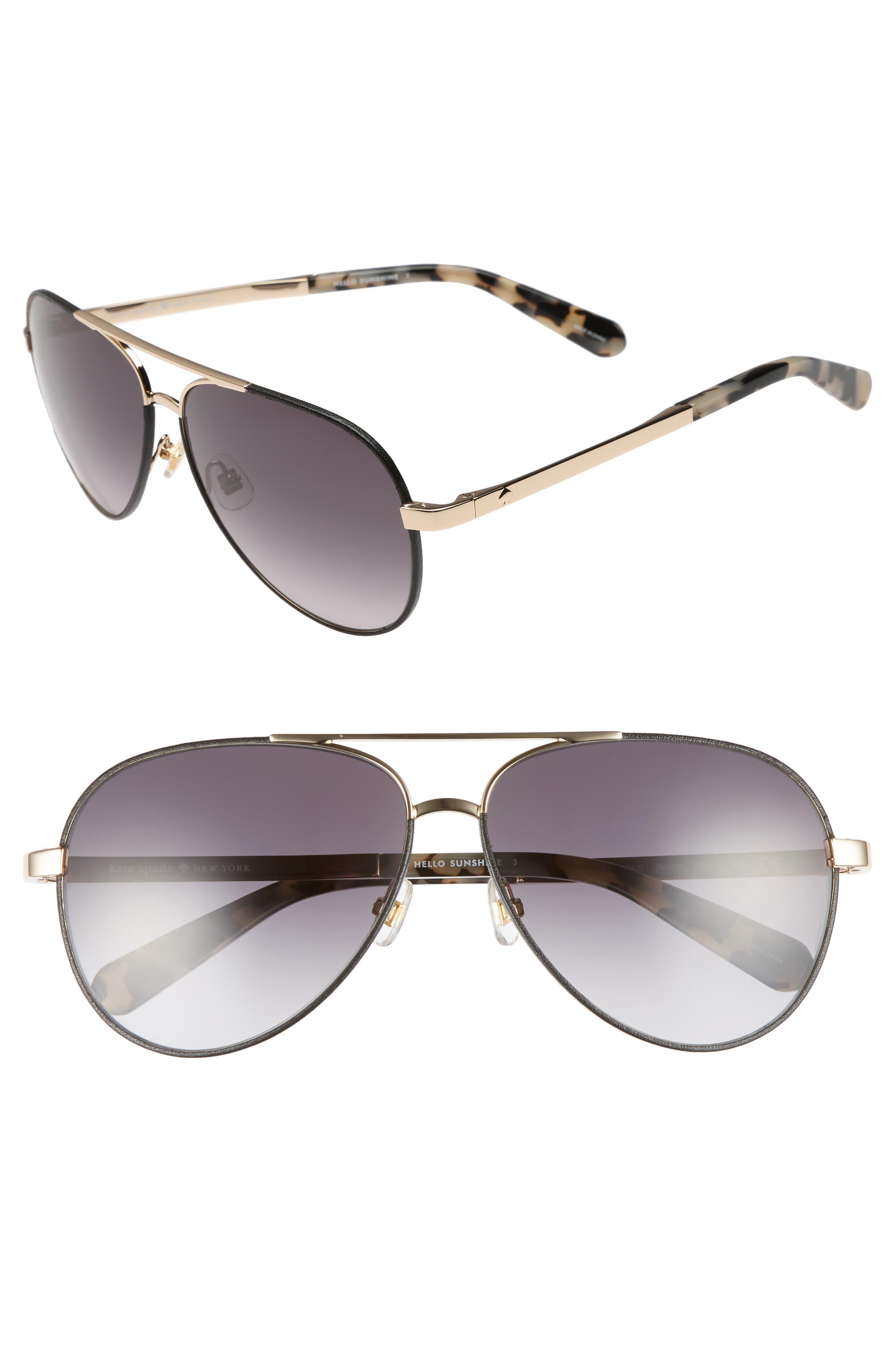 amaris 59mm sunglasses,                         Main,                         color, 001