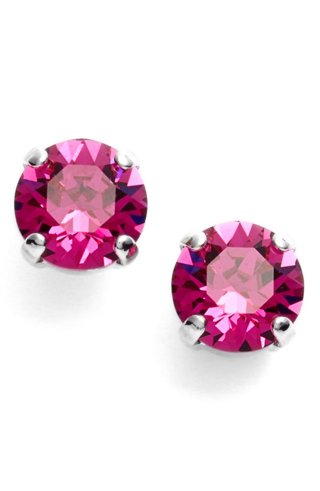 'Grace' Crystal Stud Earrings,                             Main thumbnail 13, color,