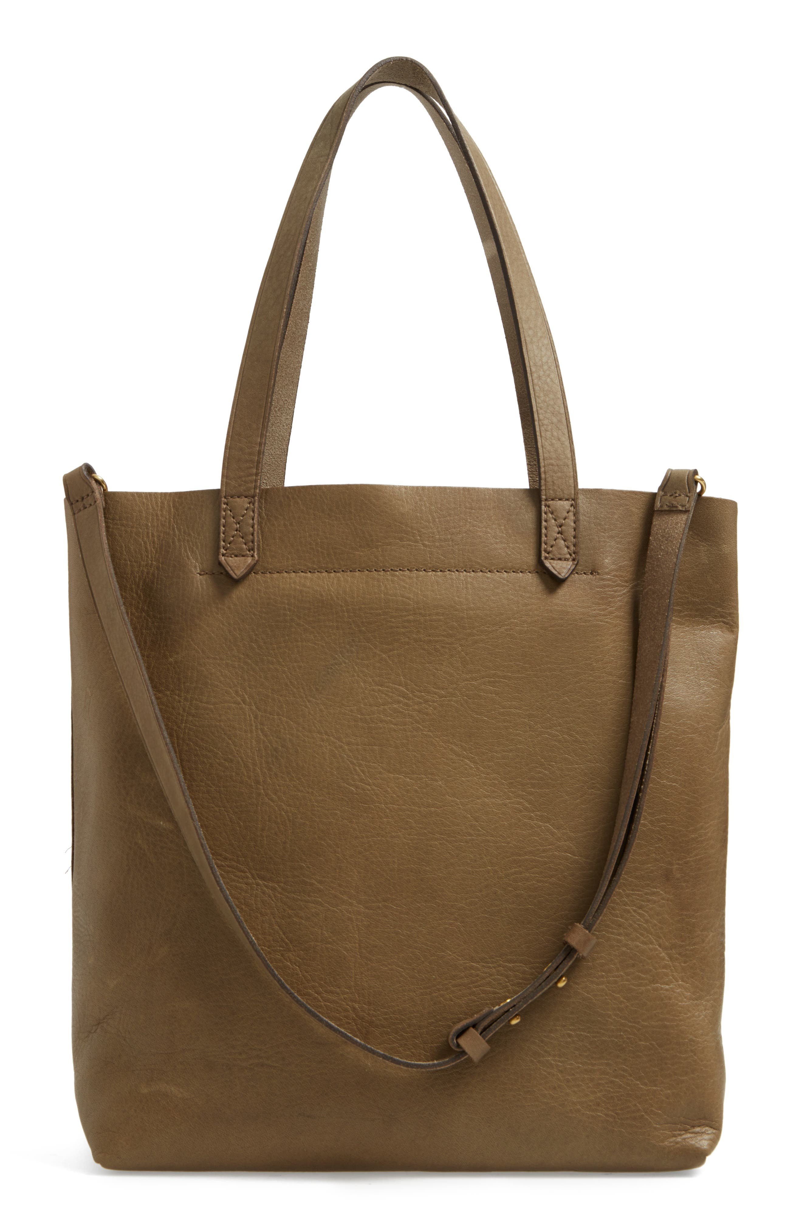 Medium Leather Transport Tote,                             Alternate thumbnail 46, color,