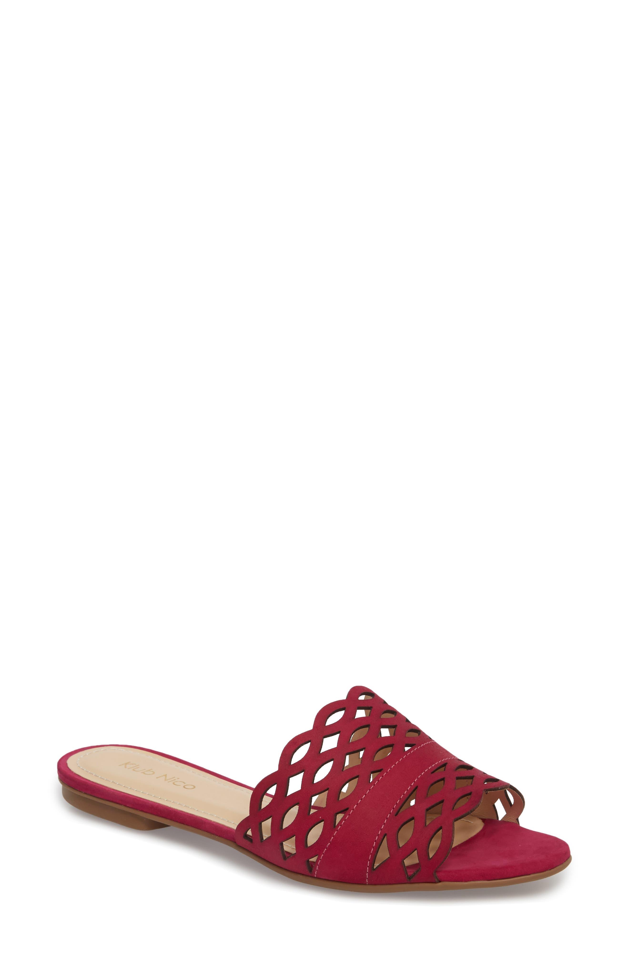 Klub Nico Gynne Slide Sandal, Pink