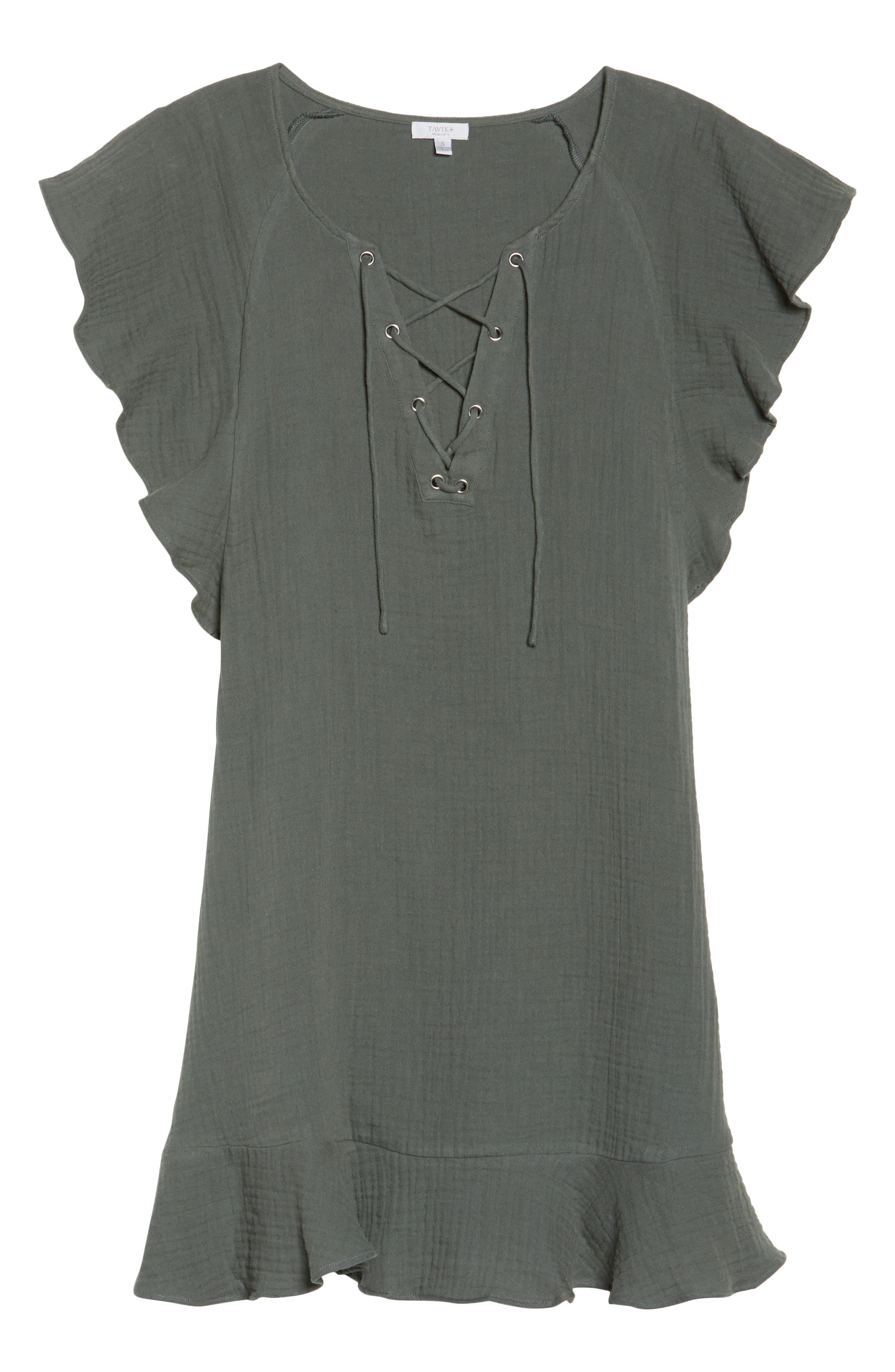 Fia Cover-Up Dress,                             Alternate thumbnail 6, color,                             020
