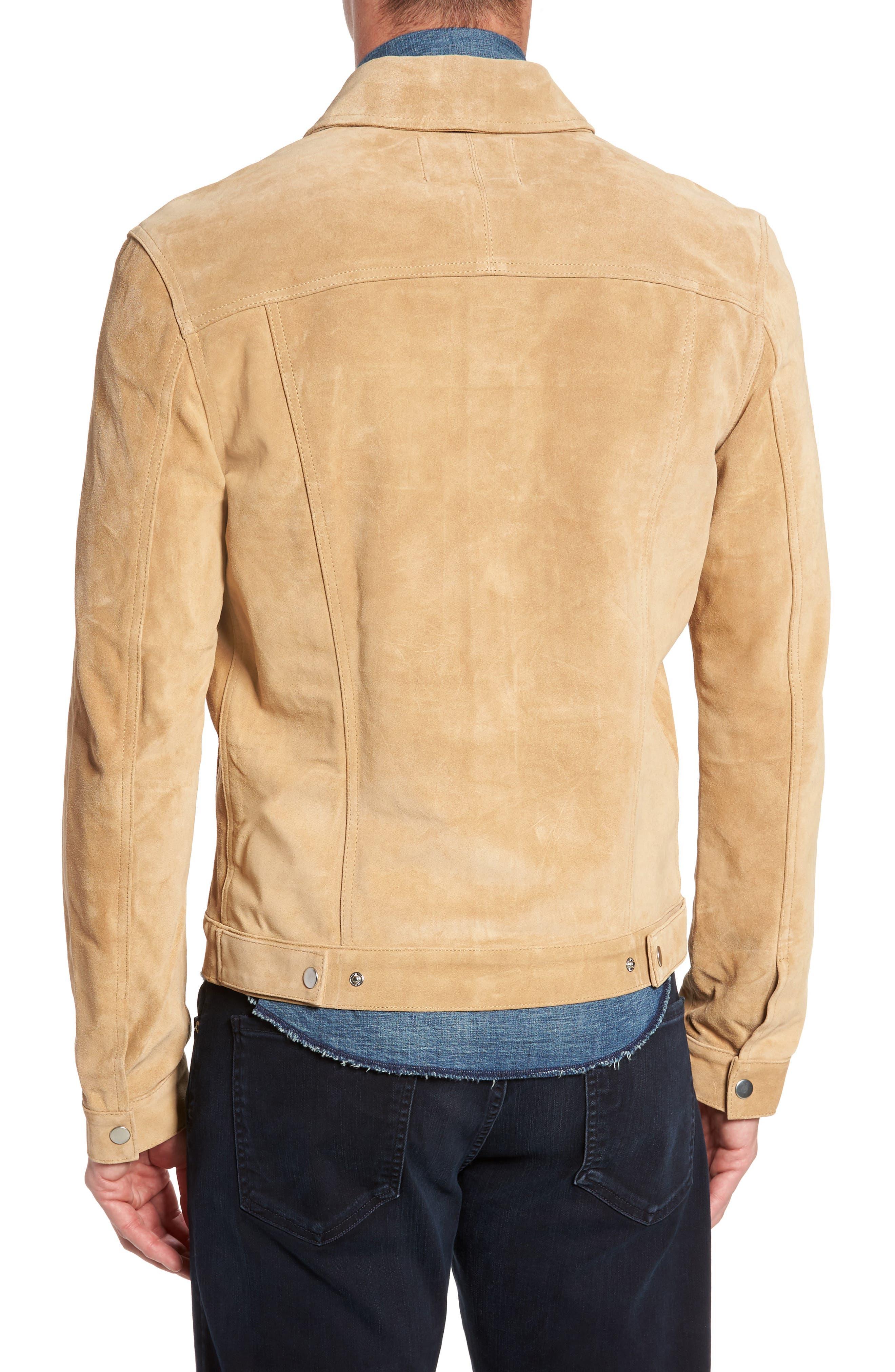 Suede Shirt Jacket,                             Alternate thumbnail 2, color,                             230