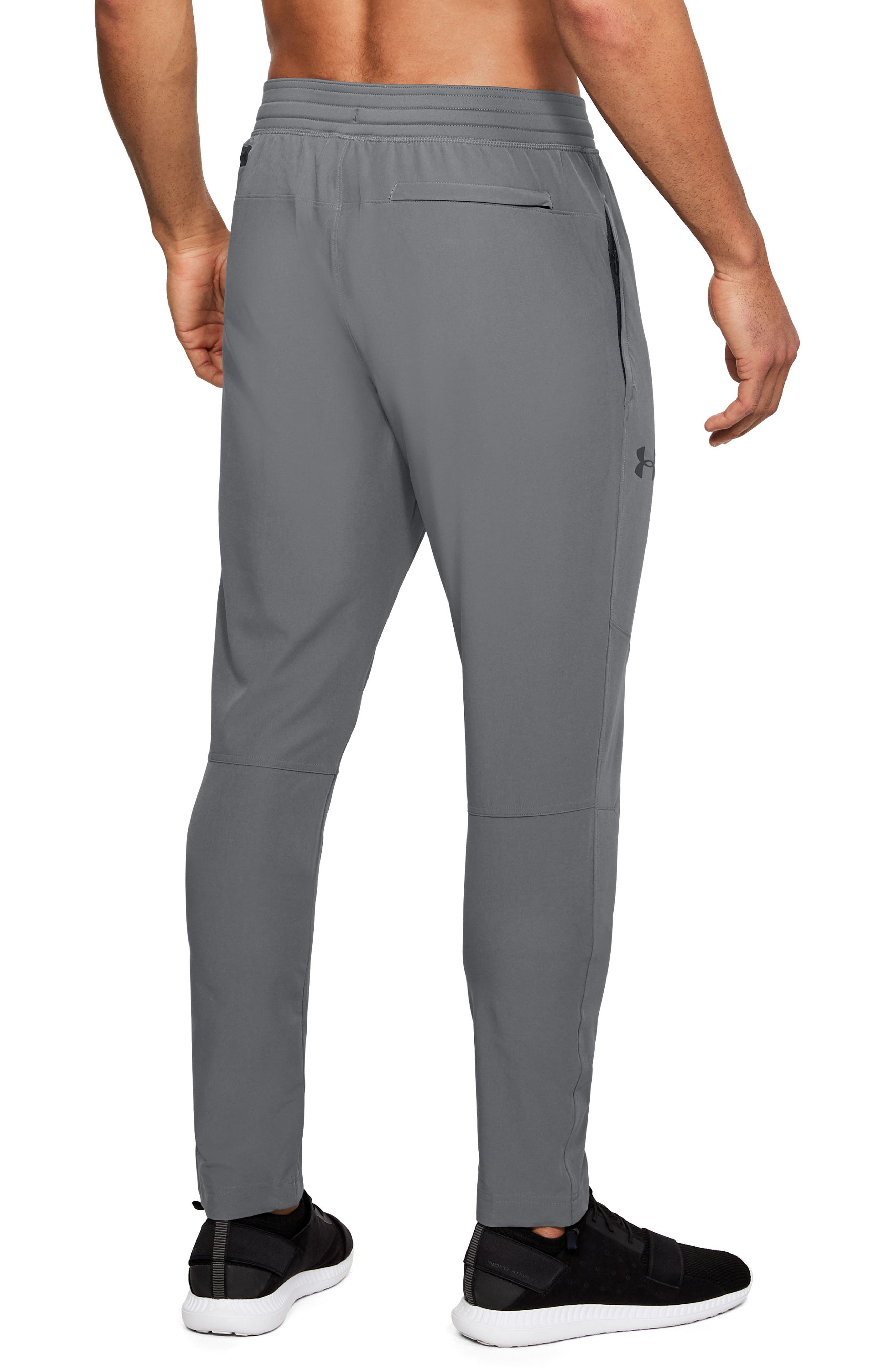 Fitted Woven Training Pants,                             Alternate thumbnail 9, color,