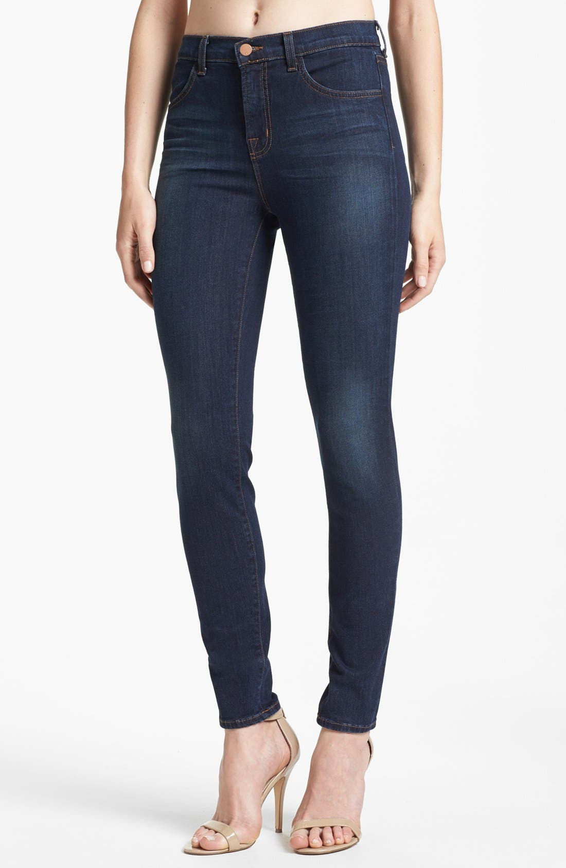 '2311 Maria' High Rise Jeans, Main, color, 410