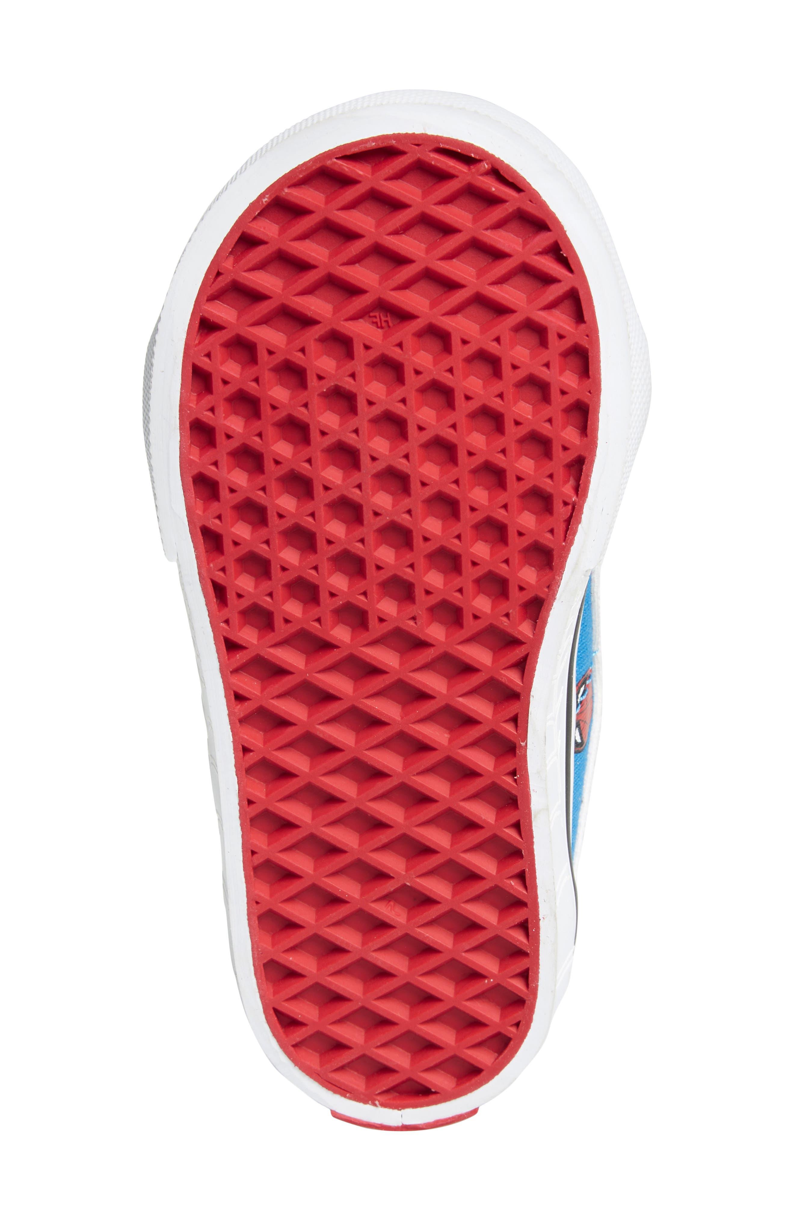 x Marvel<sup>®</sup> Spider-Man SK8-Hi Sneaker,                             Alternate thumbnail 6, color,