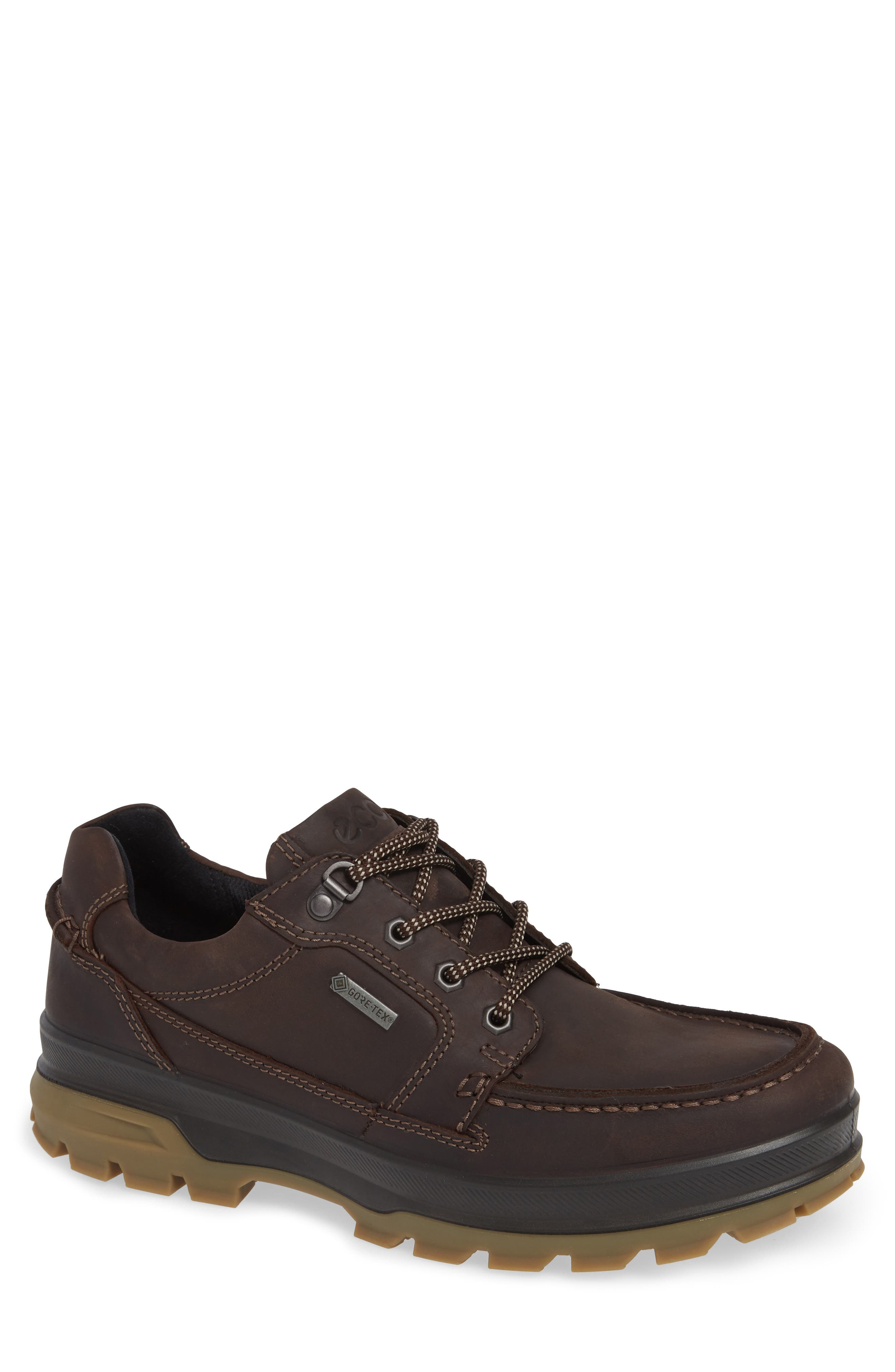 Rugged Track Low Gore-Tex<sup>®</sup> Oxford,                             Main thumbnail 1, color,                             MOCHA LEATHER