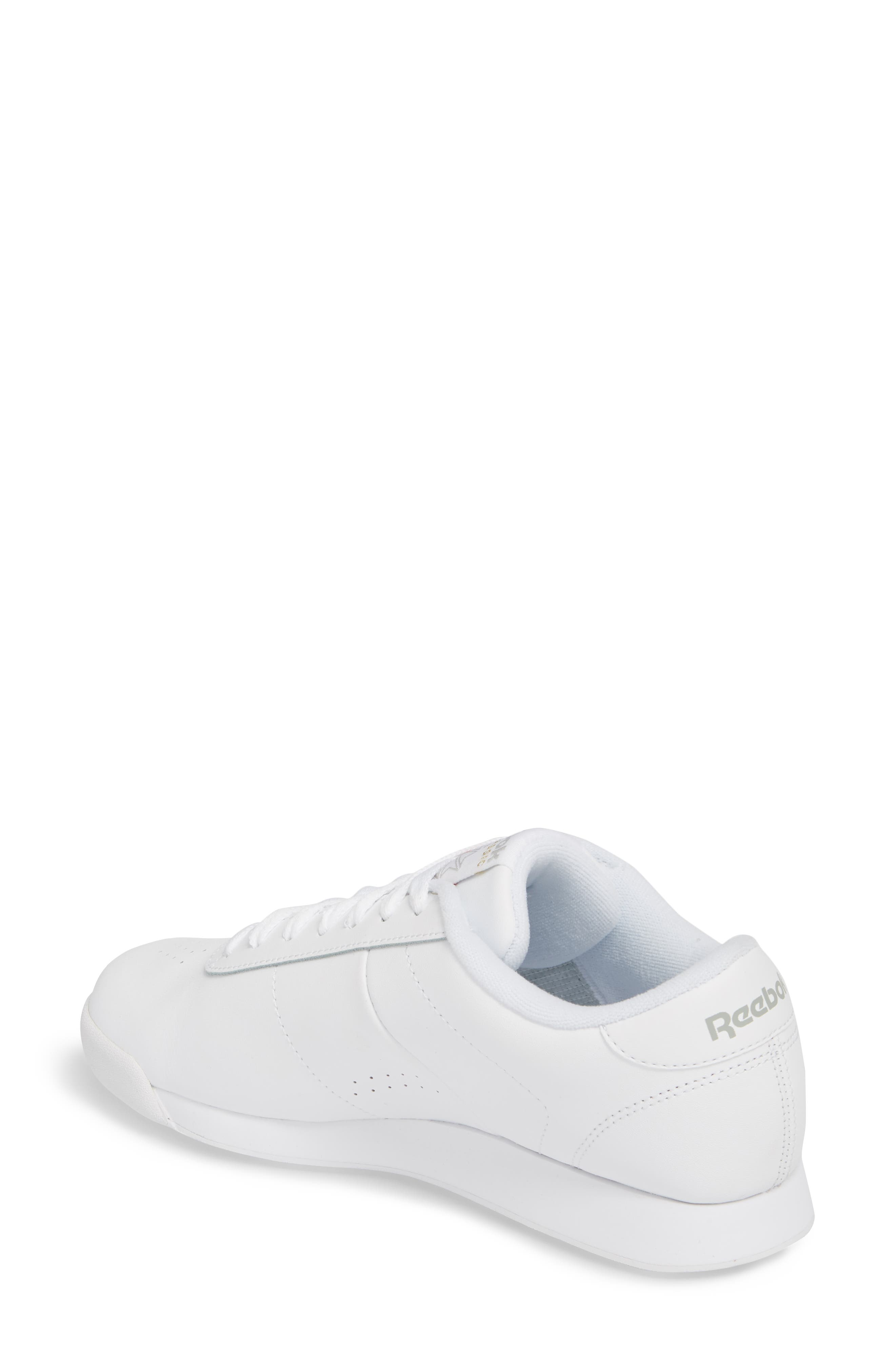 Princess Sneaker,                             Alternate thumbnail 2, color,                             WHITE
