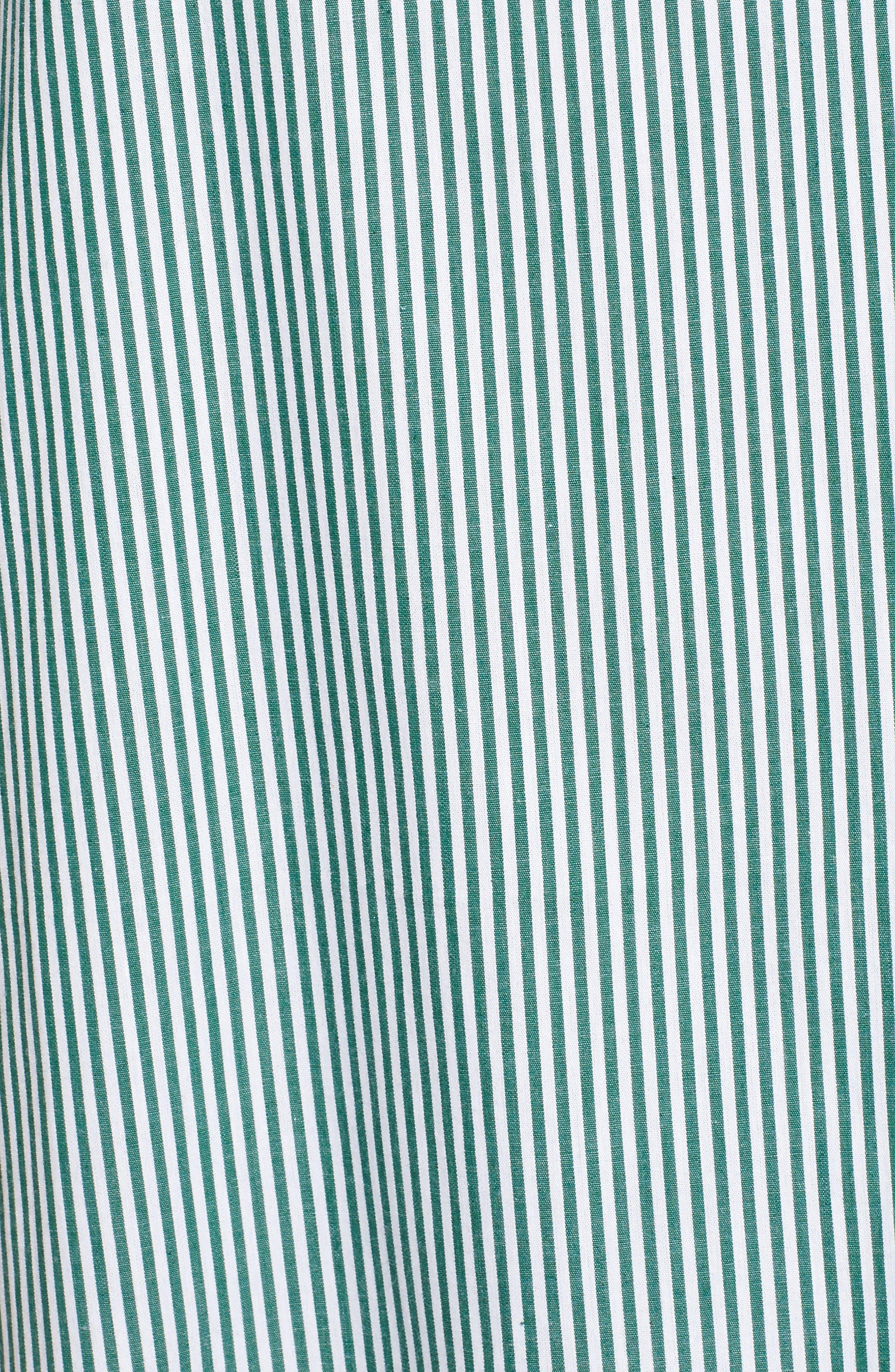 Ruffle Cold Shoulder Shift Dress,                             Alternate thumbnail 5, color,