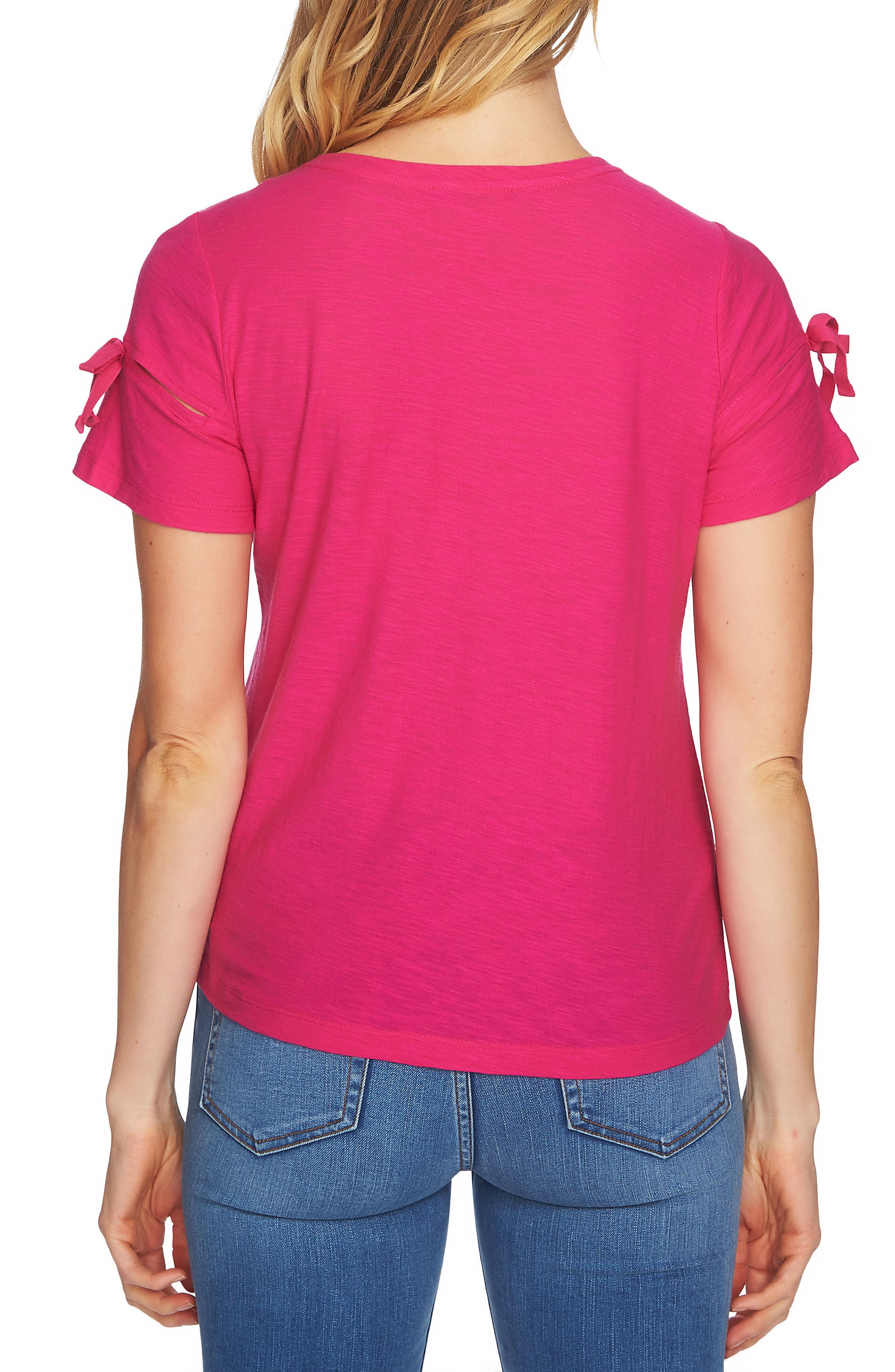 Bow Sleeve Knit Top,                             Alternate thumbnail 13, color,