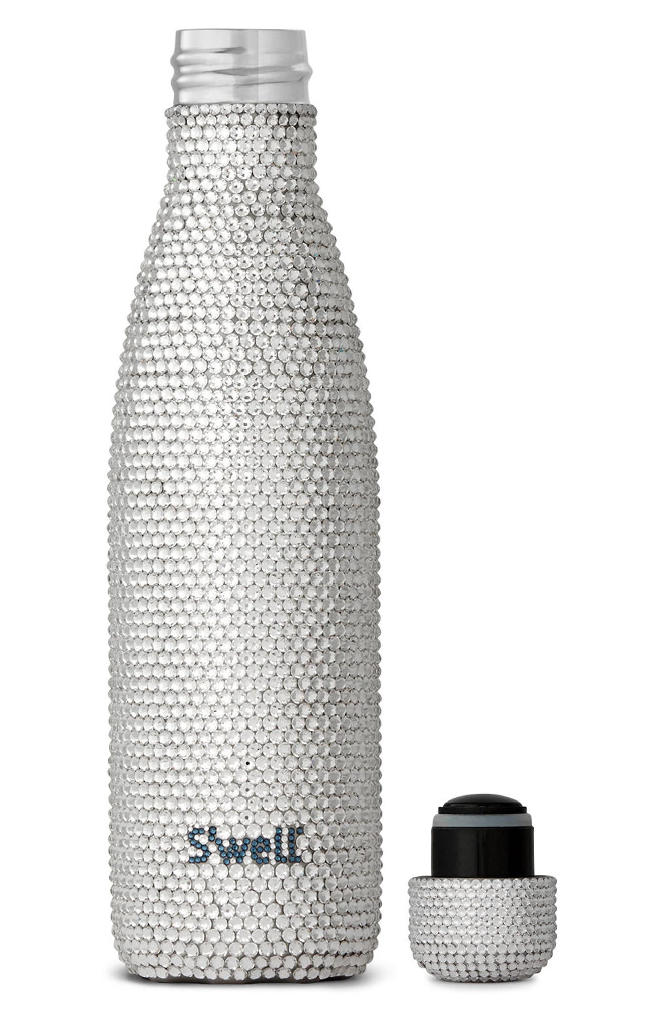 Alina Swarovski Crystal Insulated Stainless Steel Water Bottle,                             Alternate thumbnail 3, color,