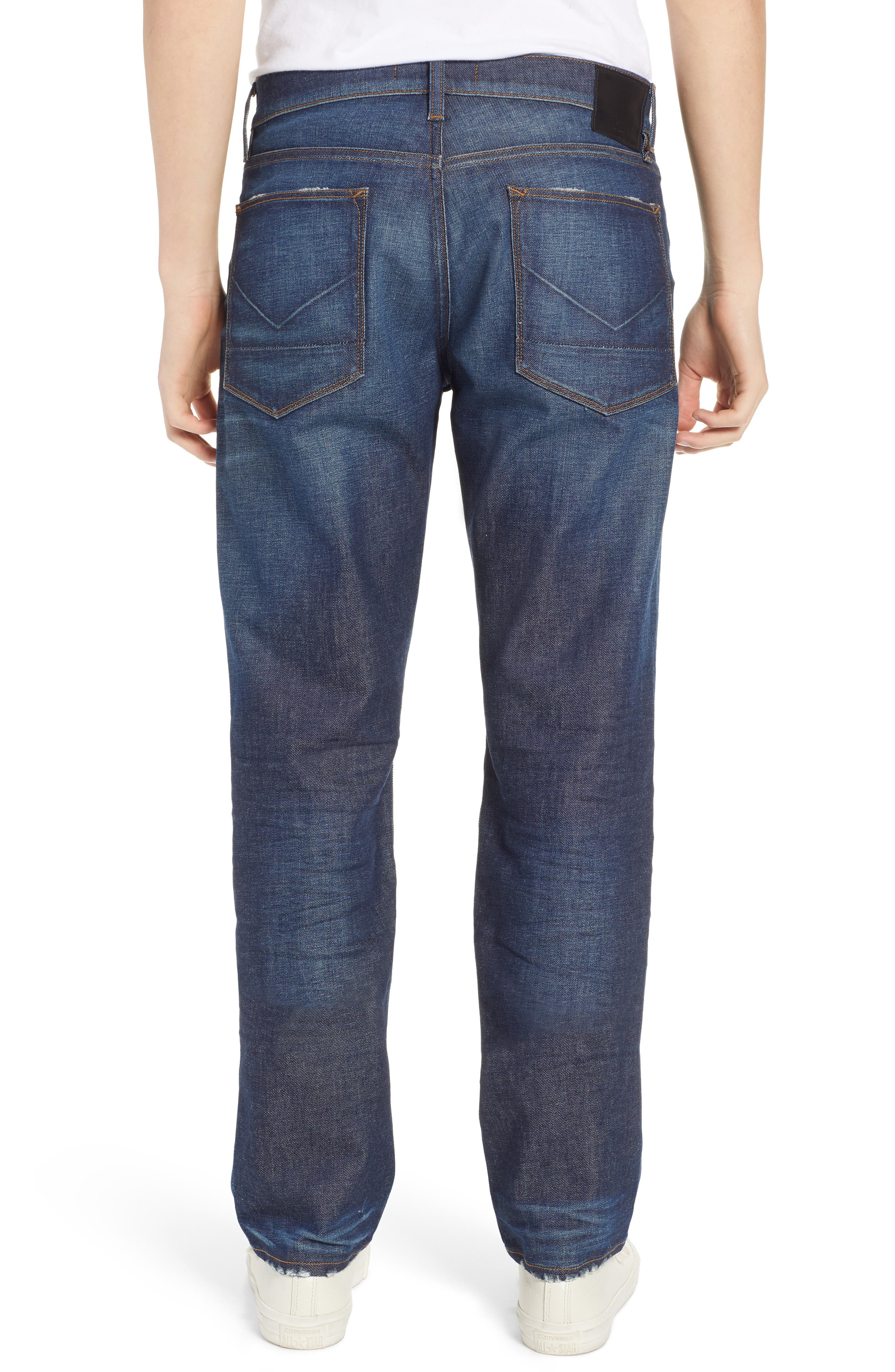 Byron Slim Straight Fit Jeans,                             Alternate thumbnail 2, color,                             ALBANY