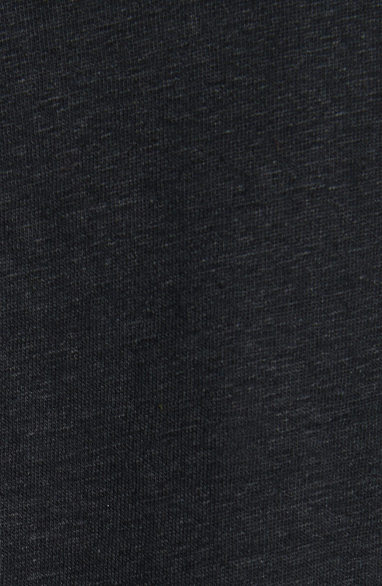 Stretch Linen Blazer,                             Alternate thumbnail 6, color,                             001
