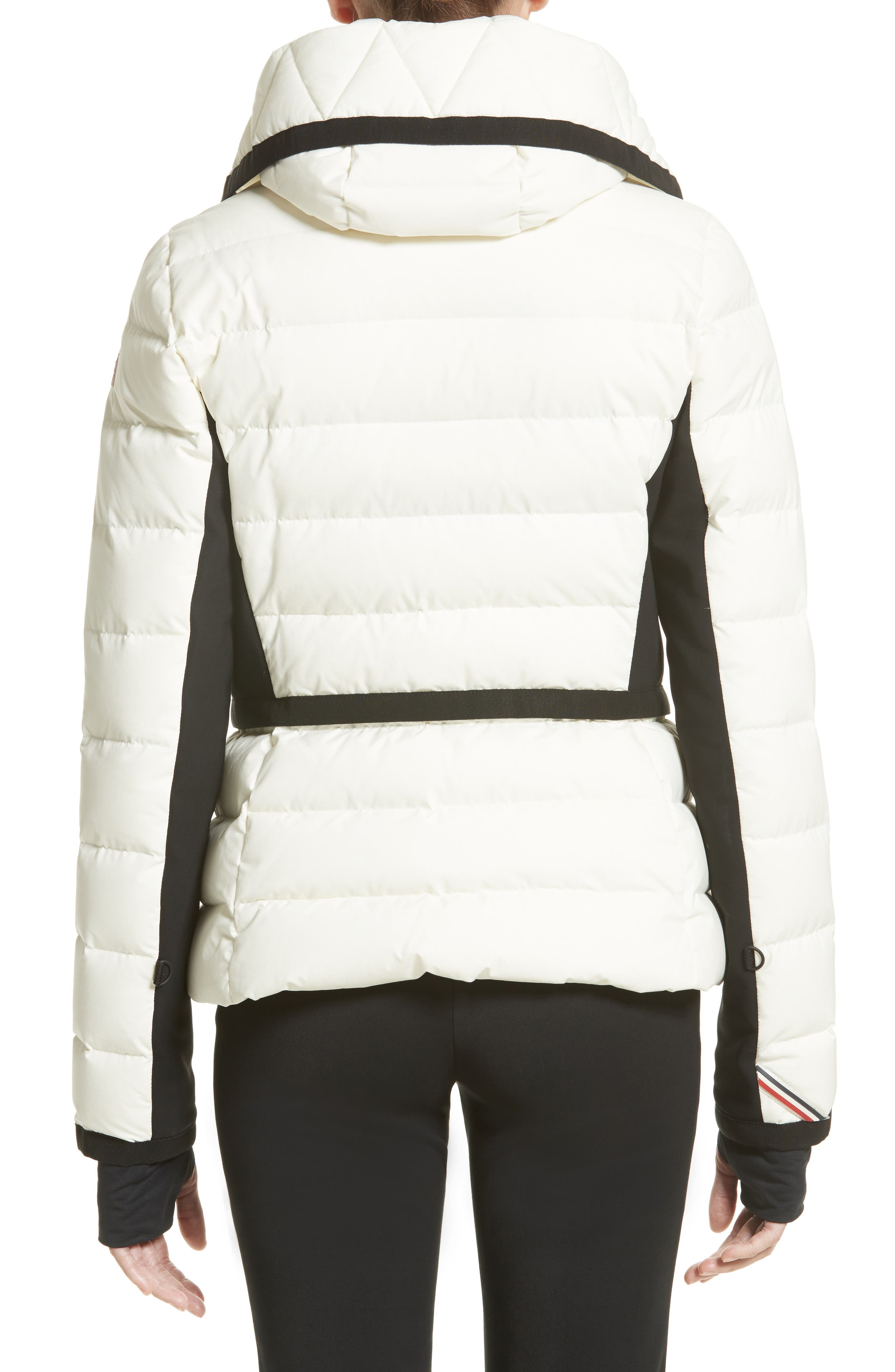Lamoura Quilted Down Puffer Coat,                             Alternate thumbnail 2, color,                             WHITE