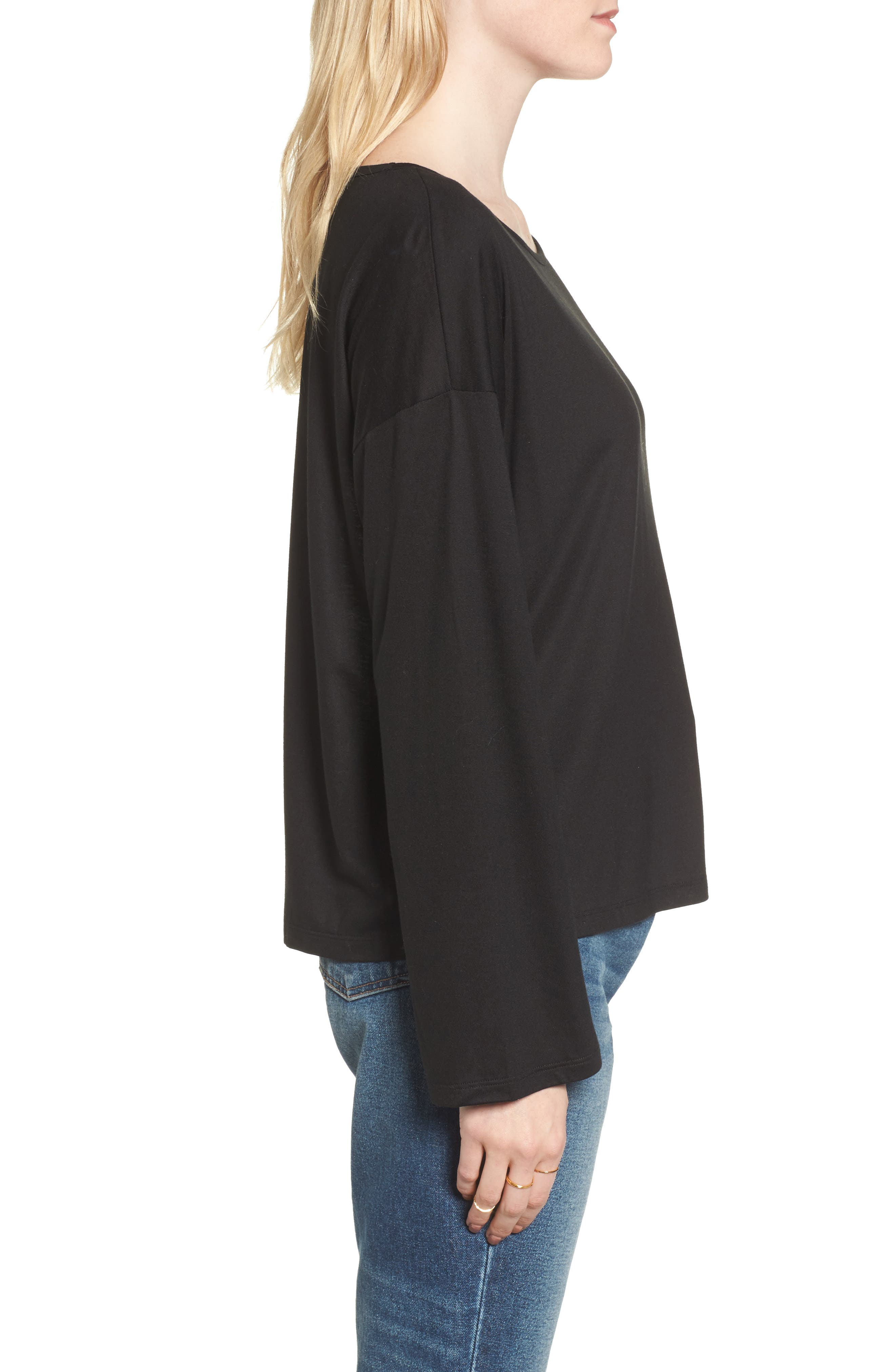 Libretto Wide Sleeve Top,                             Alternate thumbnail 9, color,