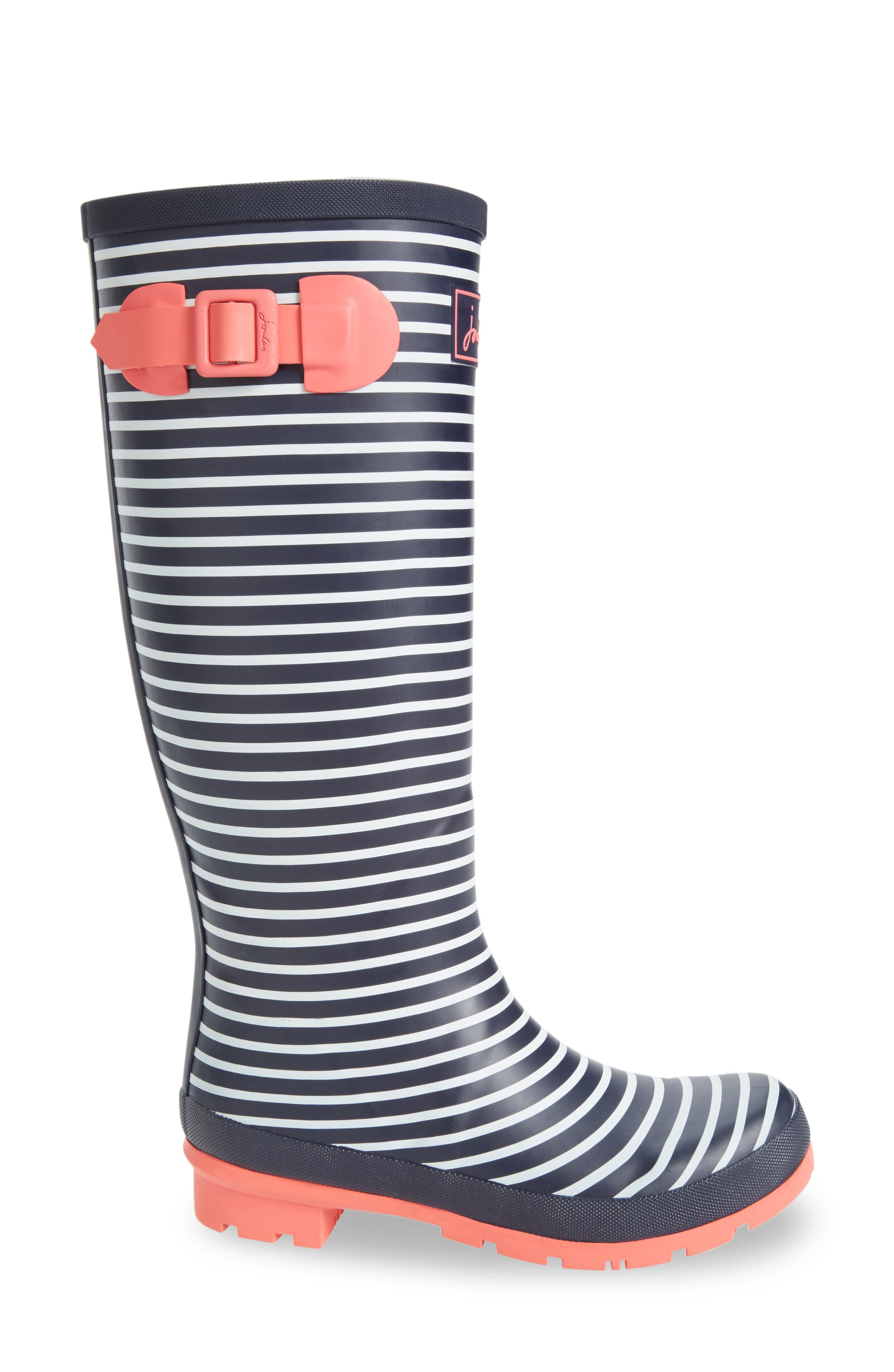 'Welly' Print Rain Boot,                             Alternate thumbnail 89, color,