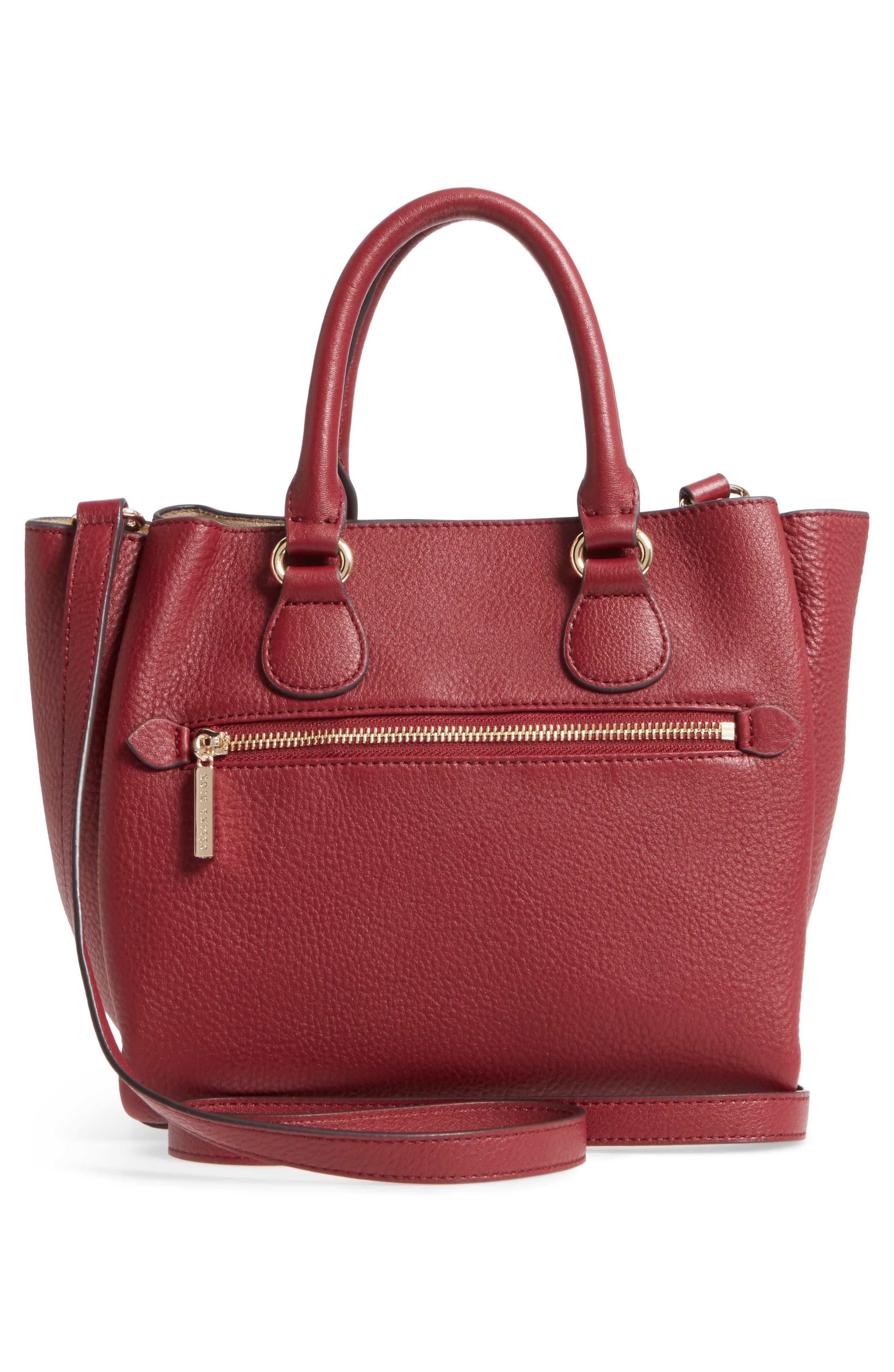 Céline Dion Small Adagio Leather Satchel,                             Alternate thumbnail 15, color,