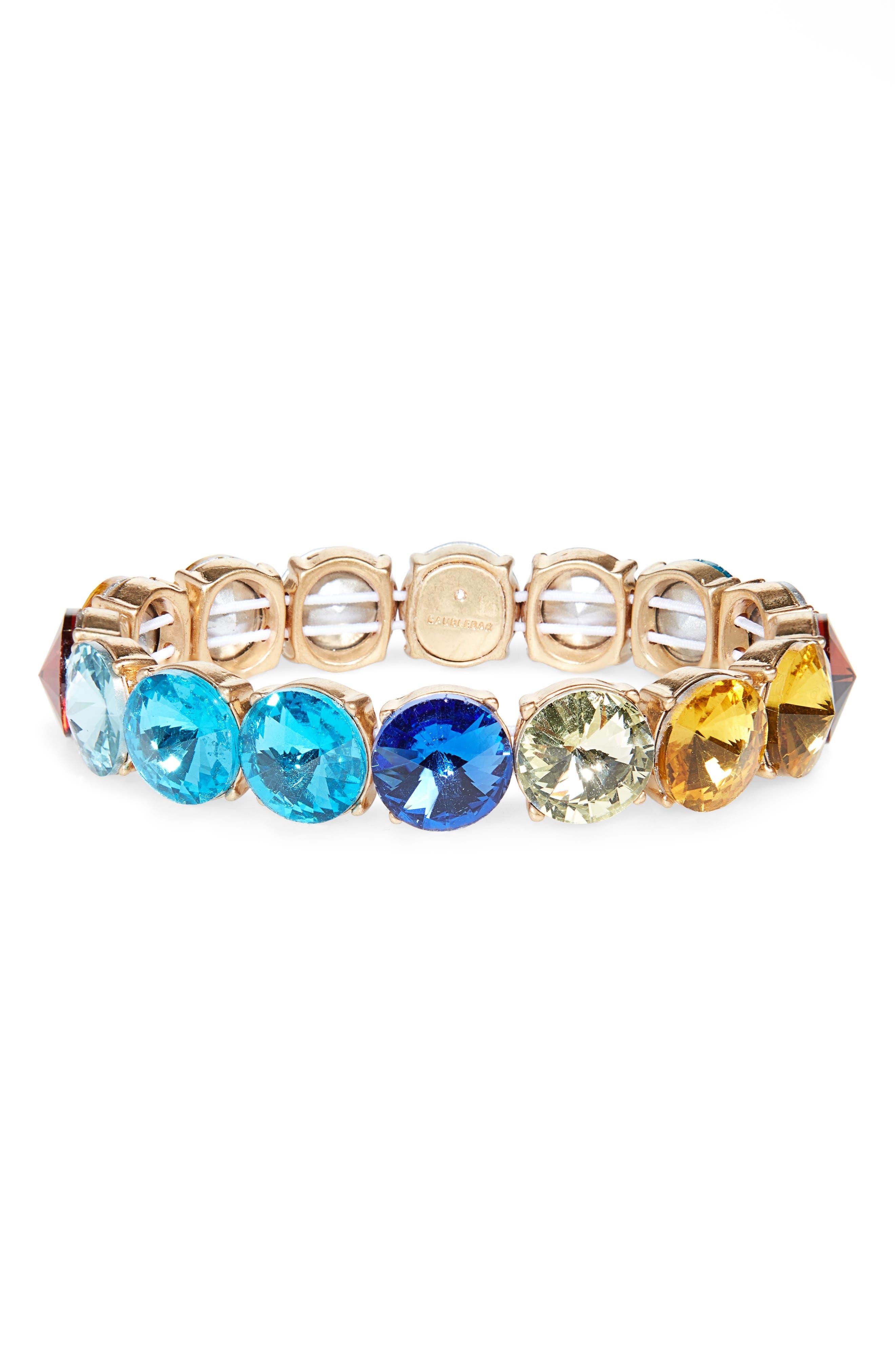 Cosette Stretch Bracelet,                         Main,                         color, MULTI