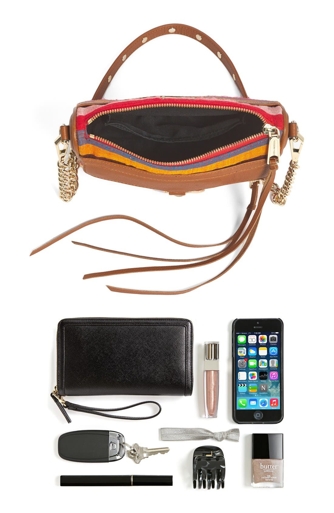 Piece & Co. and Rebecca Minkoff 'Mini MAC' Convertible Crossbody Bag,                             Alternate thumbnail 2, color,                             800