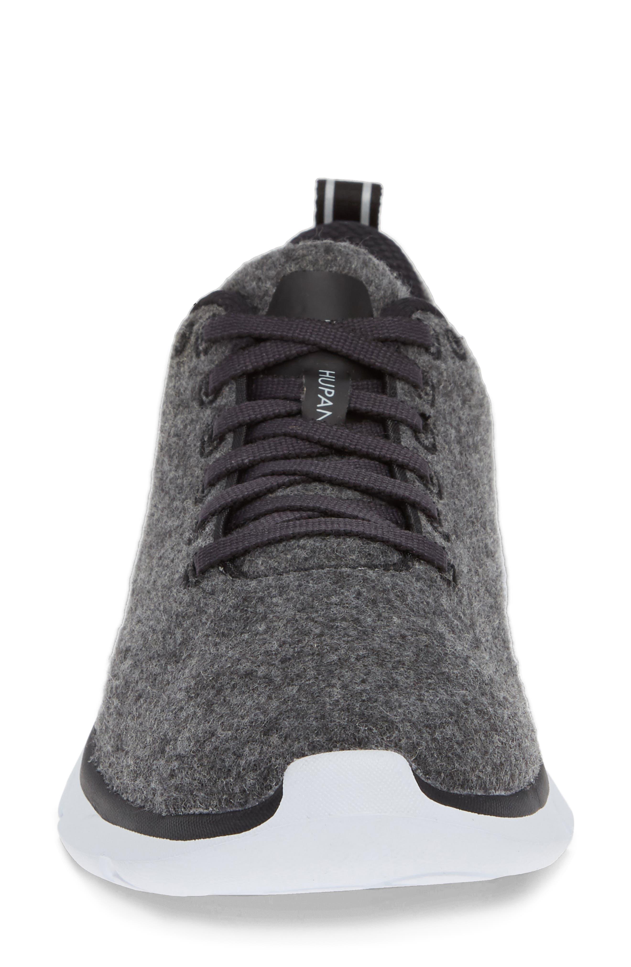 HOKA ONE ONE,                              Hupana Wool Sneaker,                             Alternate thumbnail 4, color,                             023
