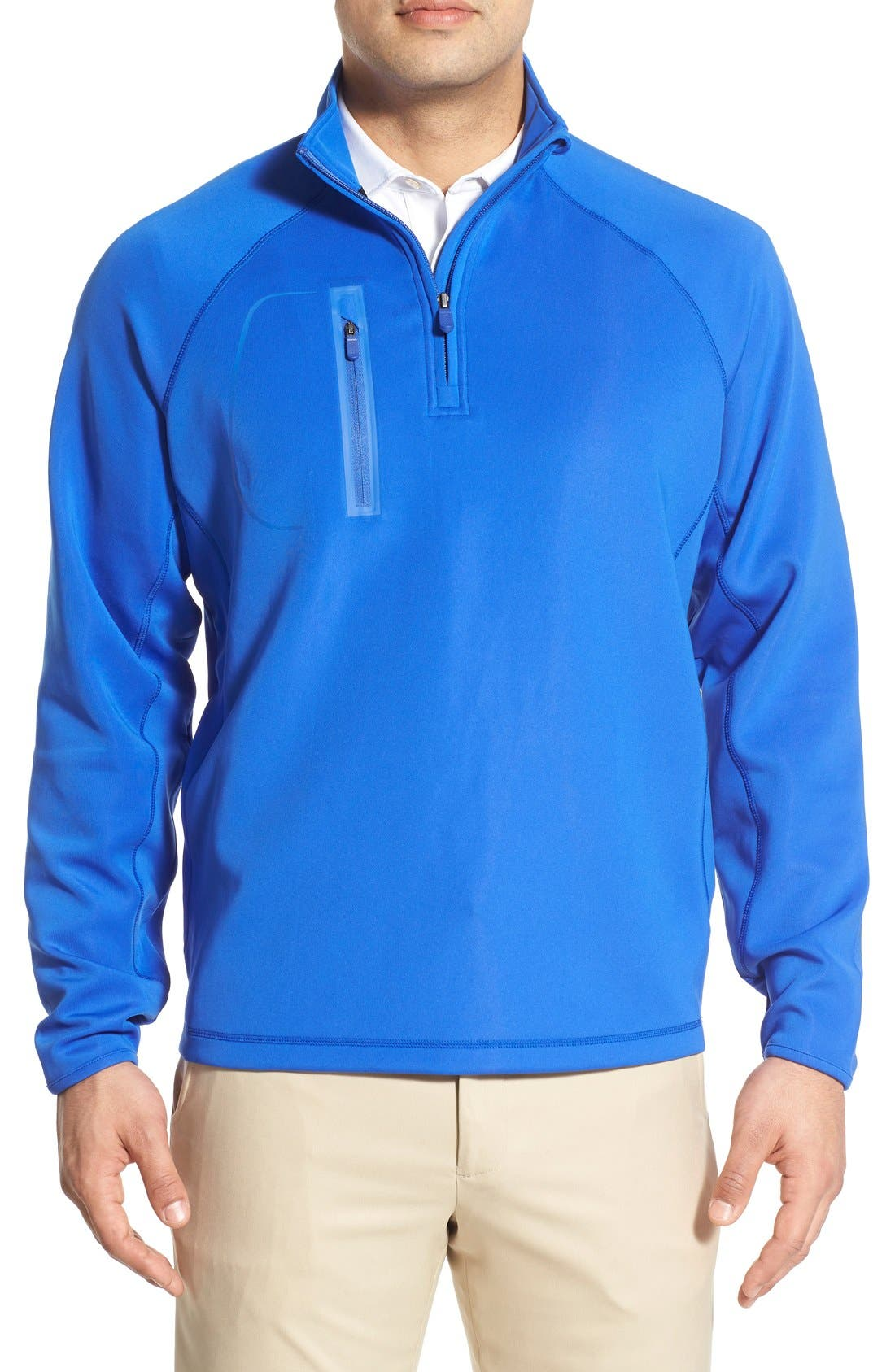 XH2O Crawford Stretch Quarter Zip Golf Pullover,                             Main thumbnail 8, color,