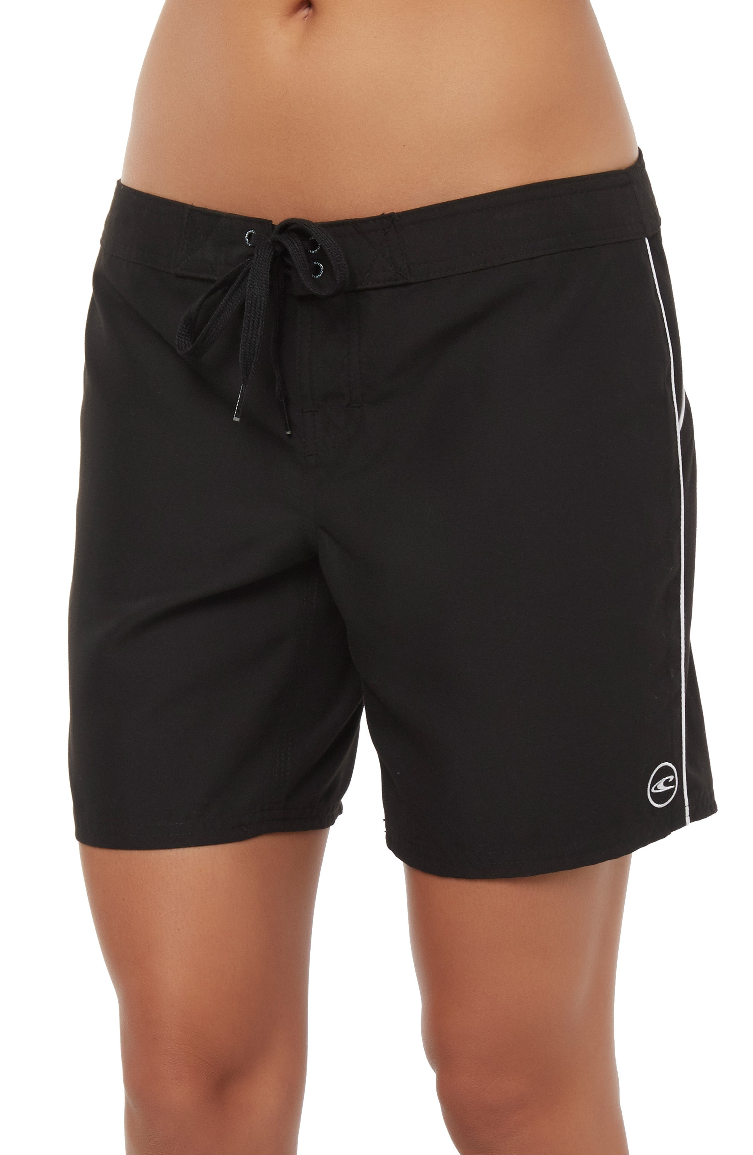 Salt Water Board Shorts,                             Alternate thumbnail 3, color,                             BLACK