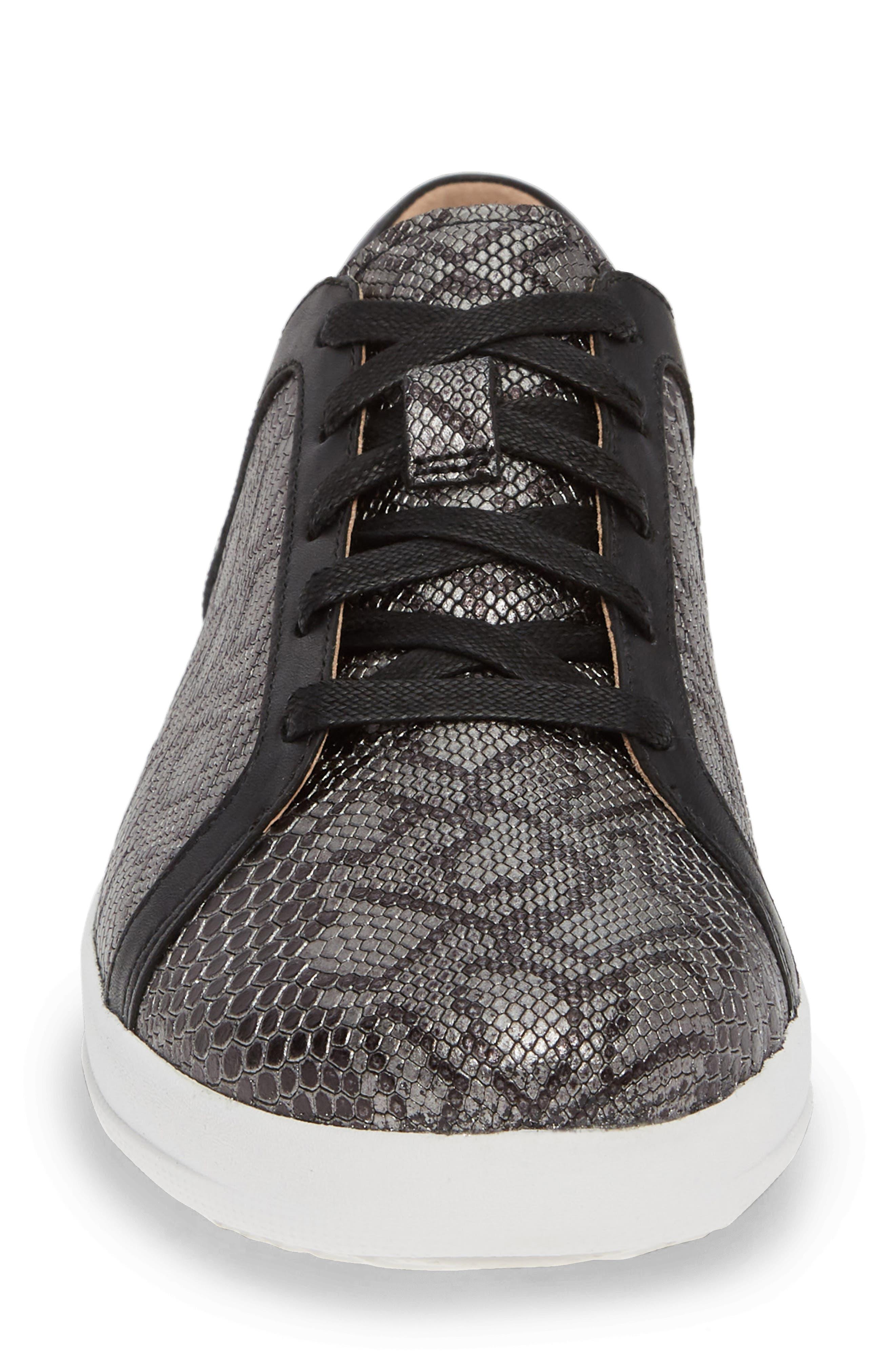 FITFLOP,                             F-Sporty II Sneaker,                             Alternate thumbnail 4, color,                             001