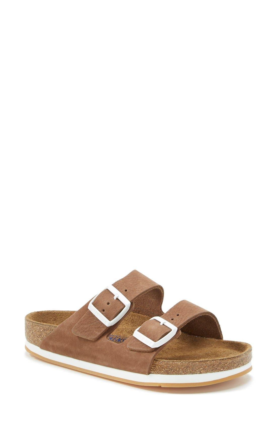'Arizona' Soft Footbed Sandal,                             Main thumbnail 1, color,                             200