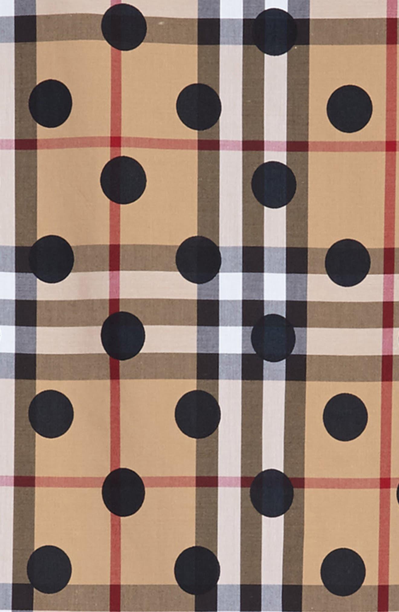 Anabella Drop Waist Dress,                             Alternate thumbnail 3, color,                             410