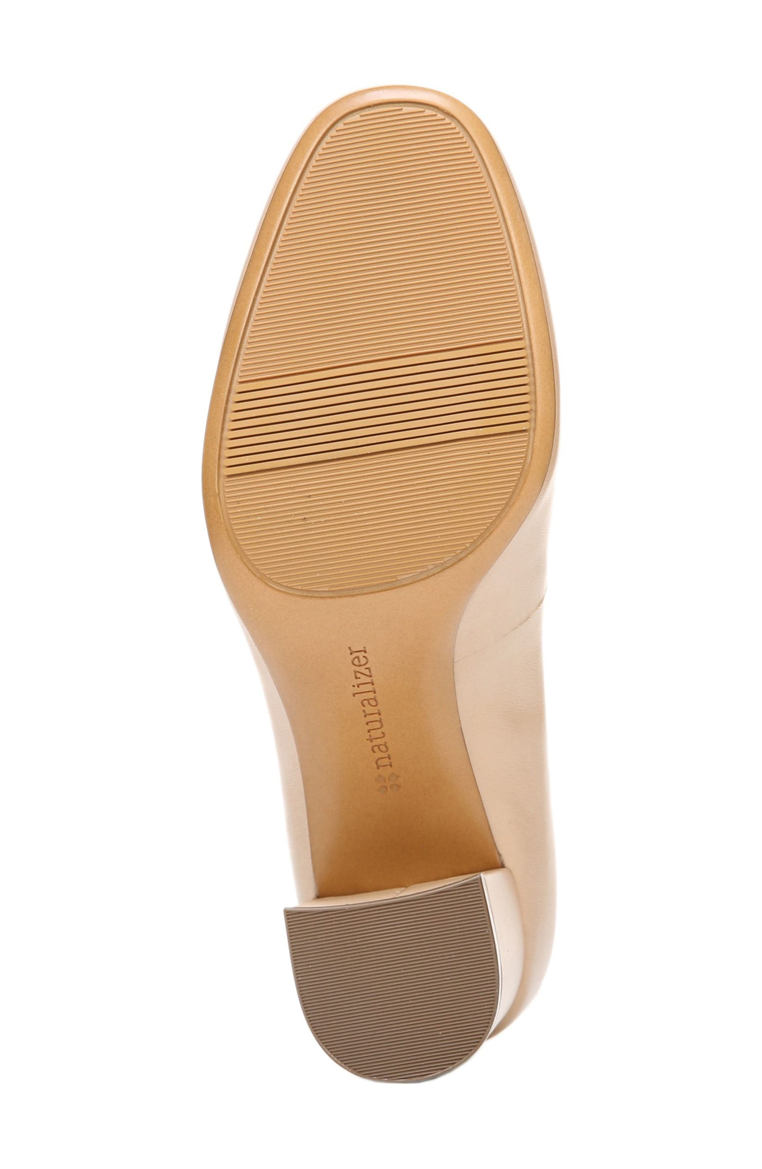 Whitney Pump,                             Alternate thumbnail 6, color,                             TENDER TAUPE LEATHER