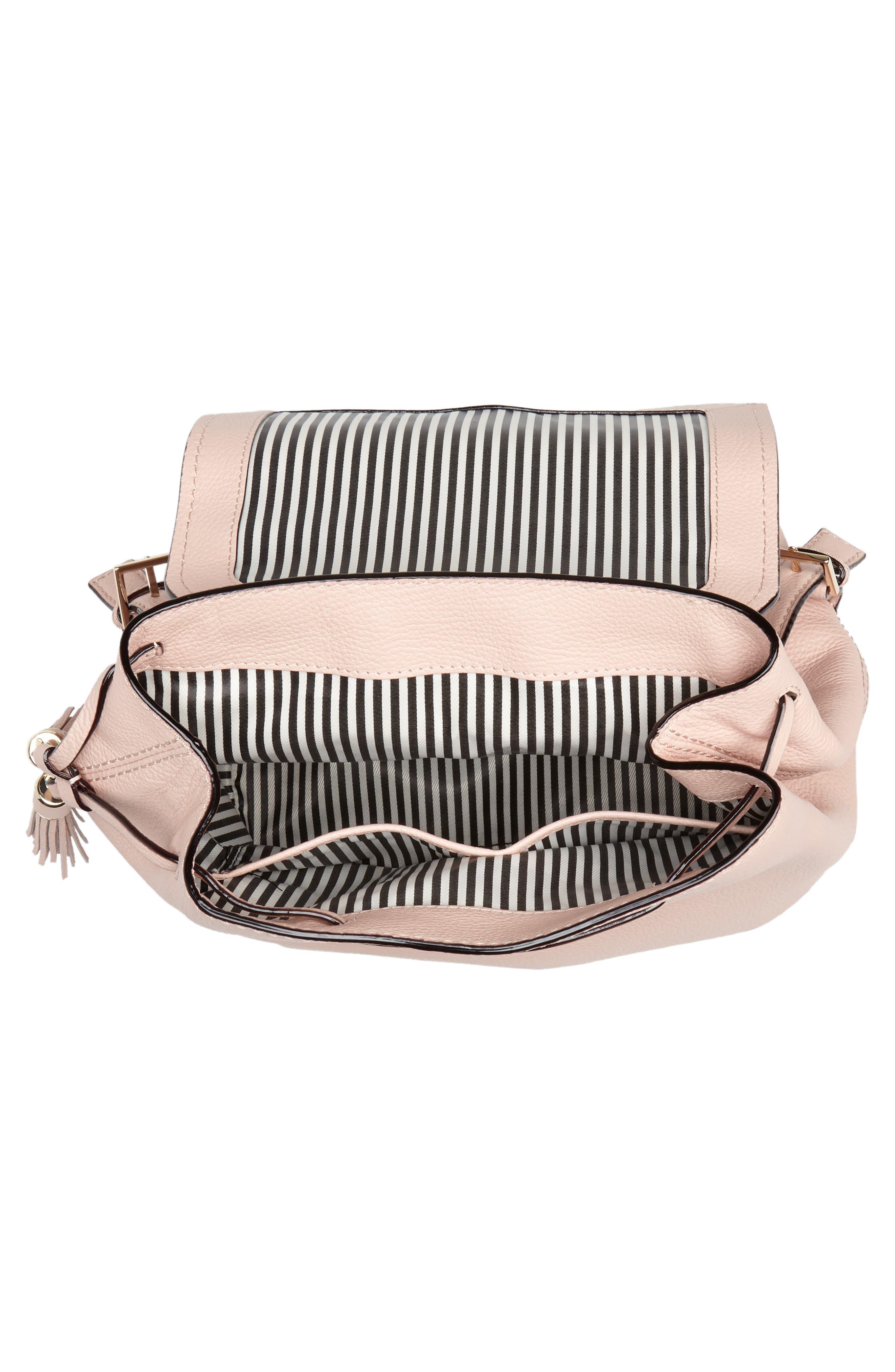 kingston drive - simona leather backpack,                             Alternate thumbnail 8, color,