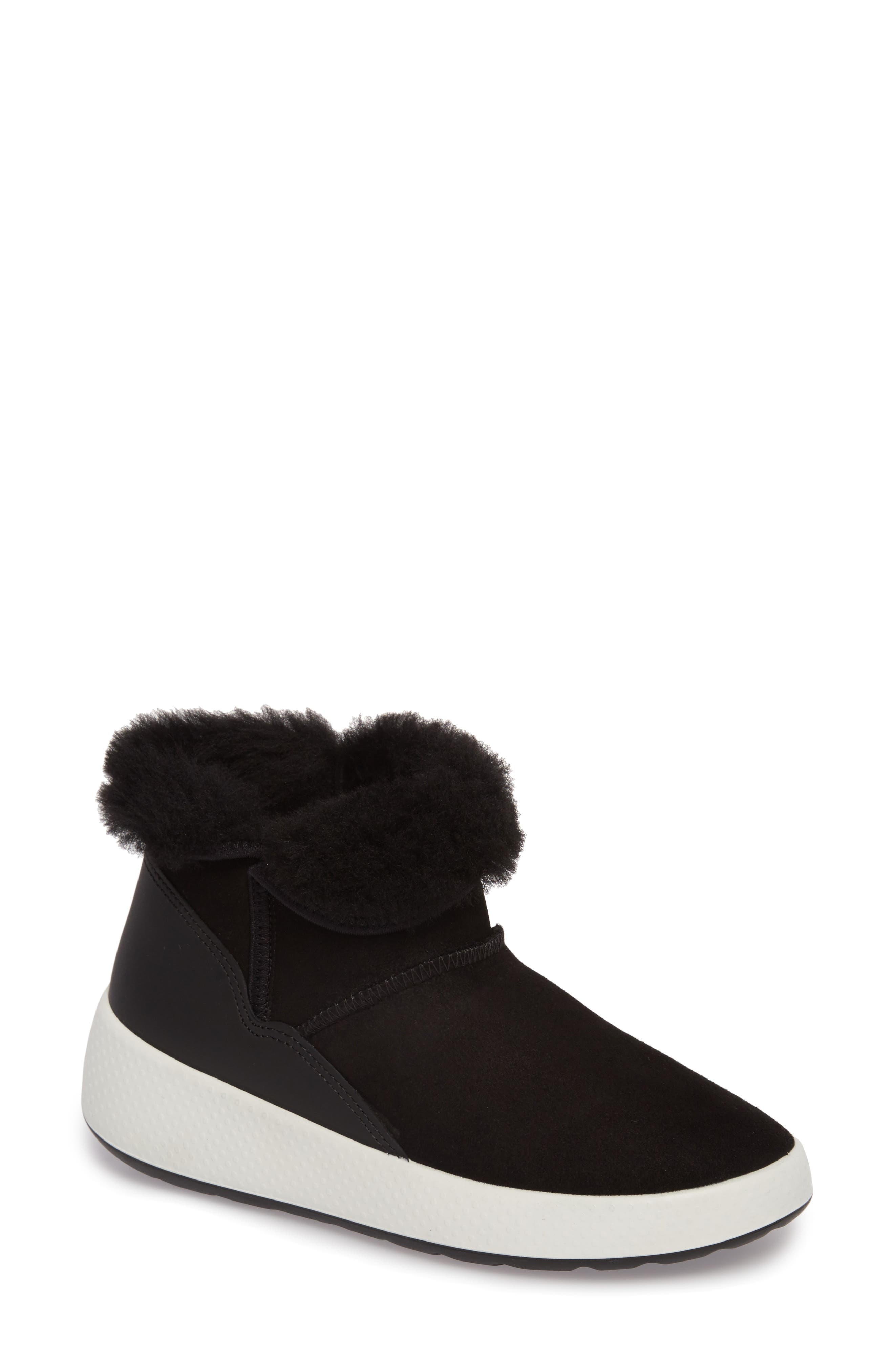Ukiuk Genuine Shearling Boot,                             Main thumbnail 1, color,                             001