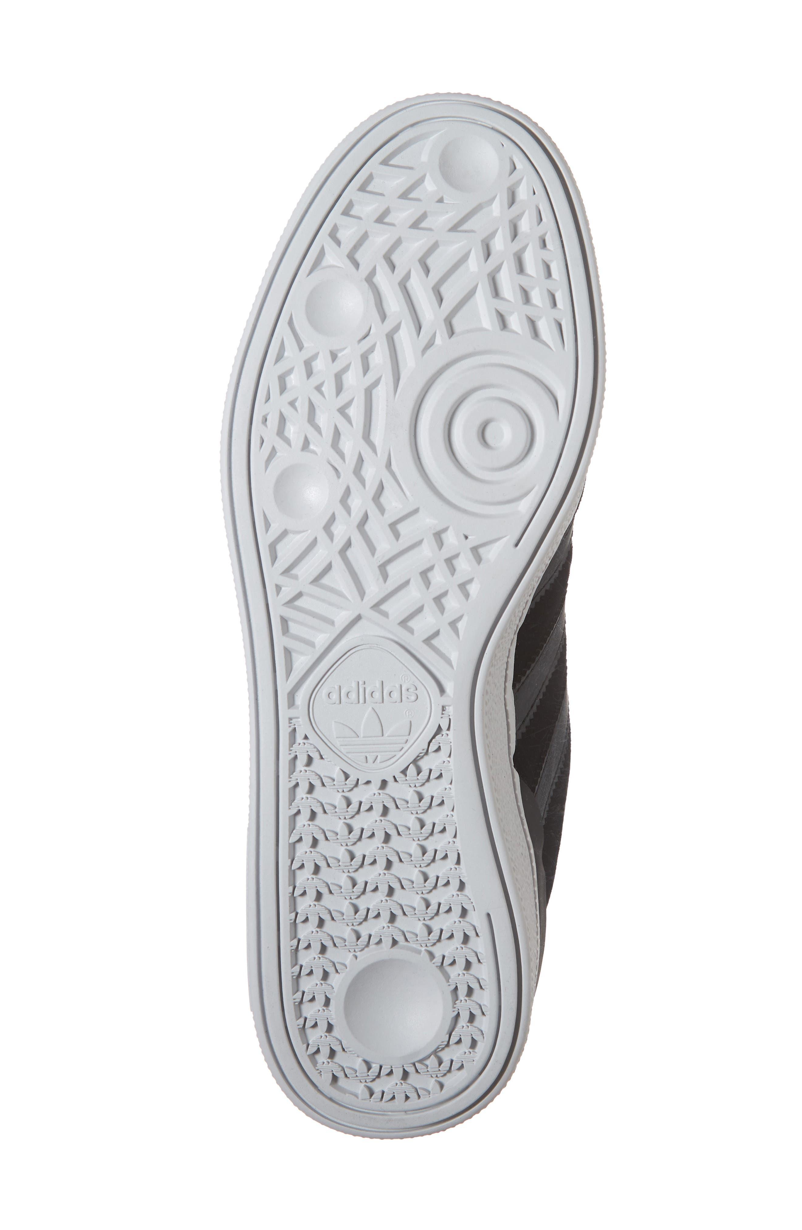 Busenitz Sneaker,                             Alternate thumbnail 6, color,                             BLACK/ BLACK/ WHITE
