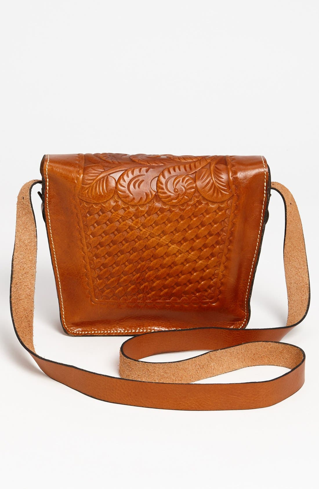 'Marciano' Leather Crossbody Bag,                             Alternate thumbnail 3, color,                             200