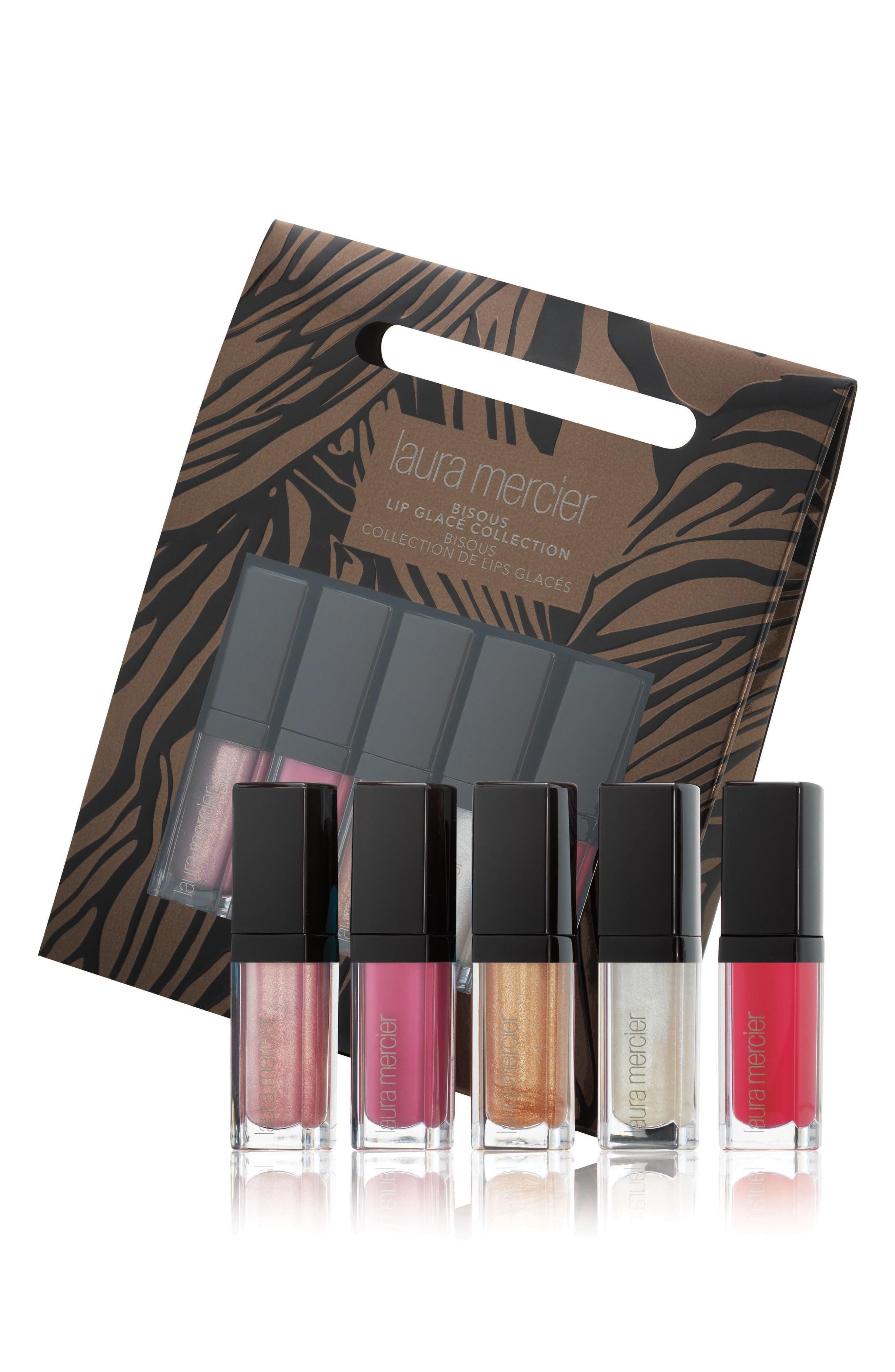 Bisous Lip Glacé Collection,                             Main thumbnail 1, color,