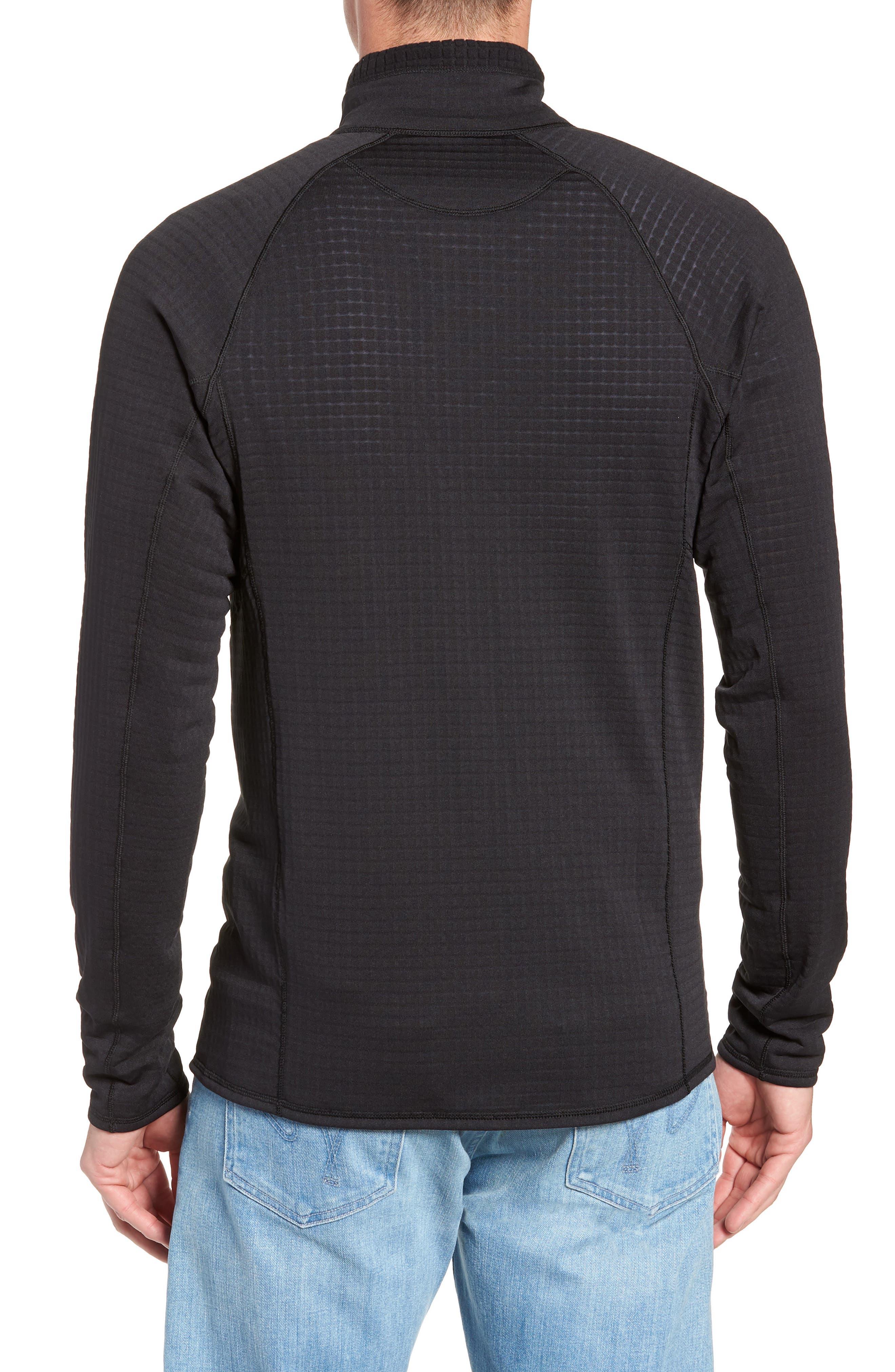 R1<sup>®</sup> Full Zip Jacket,                             Alternate thumbnail 2, color,                             BLACK