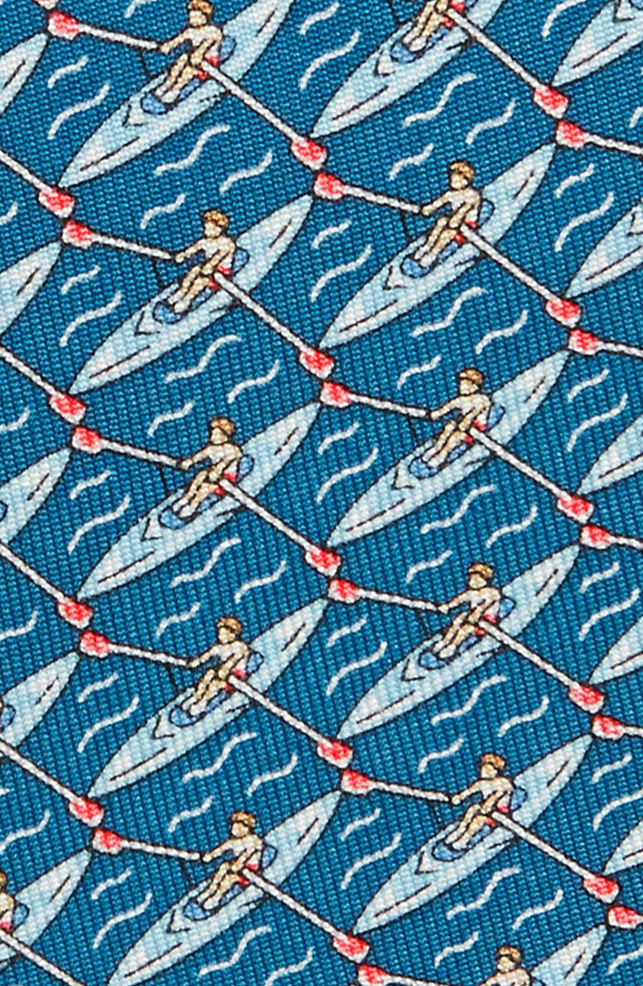 Rowing Silk Tie,                             Alternate thumbnail 2, color,                             459