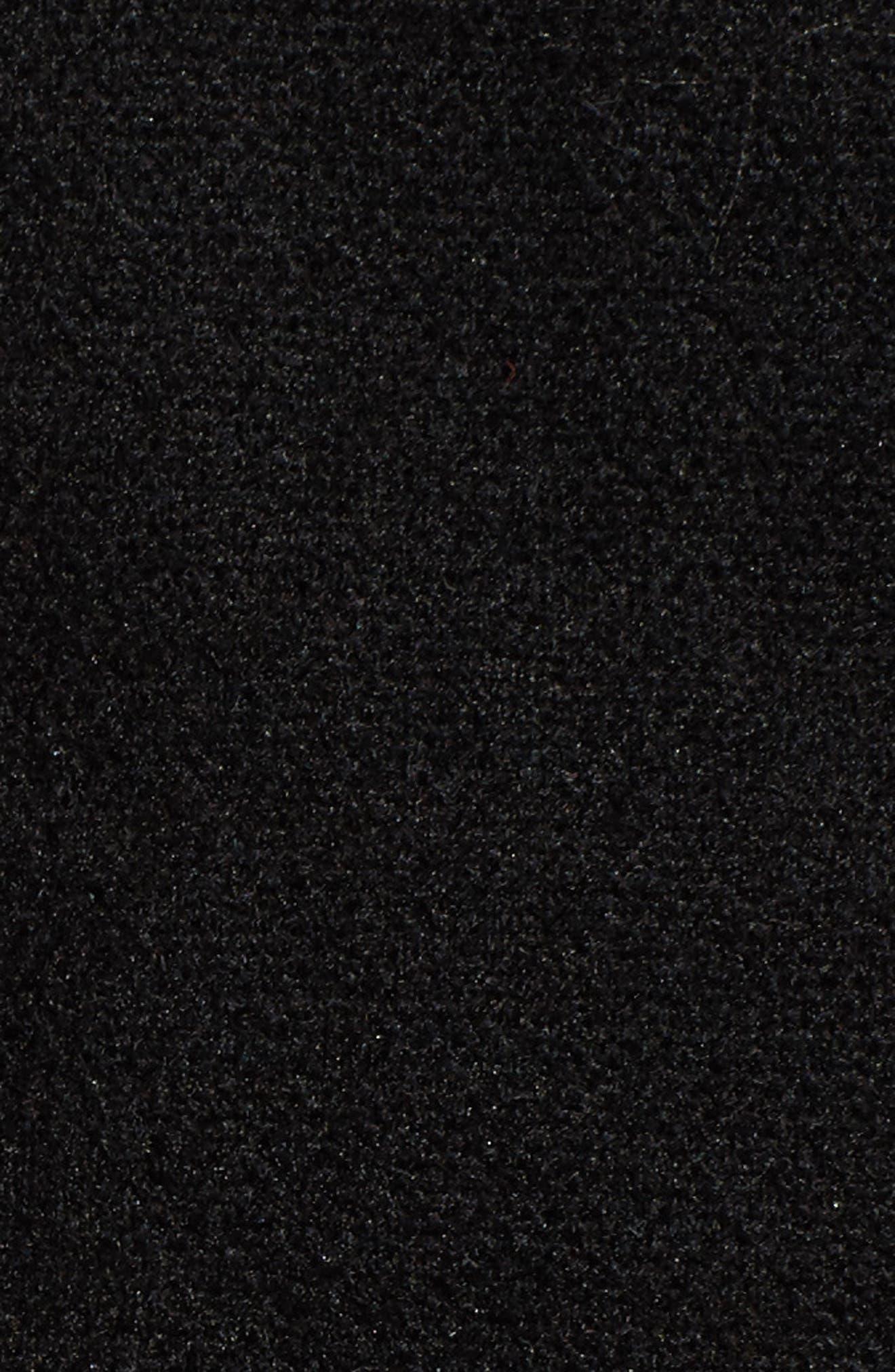 Indi Fleece Jacket,                             Alternate thumbnail 7, color,                             001