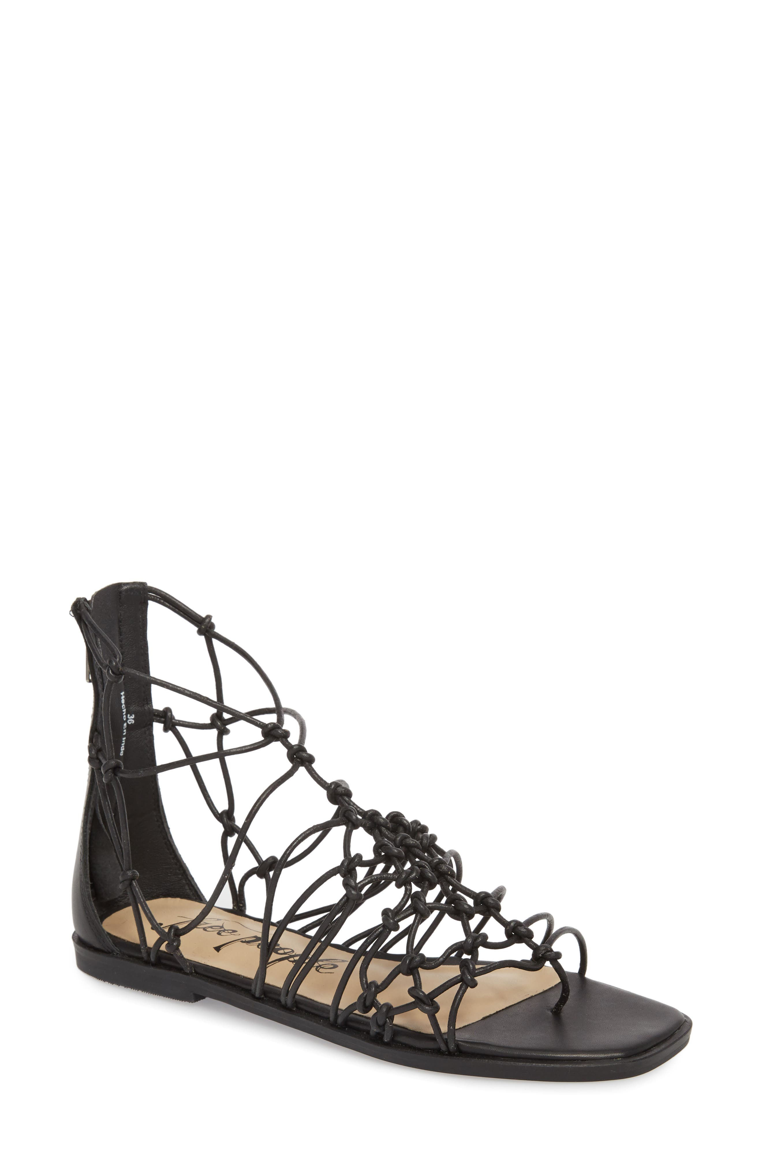 Forget Me Knot Gladiator Sandal,                         Main,                         color, 001