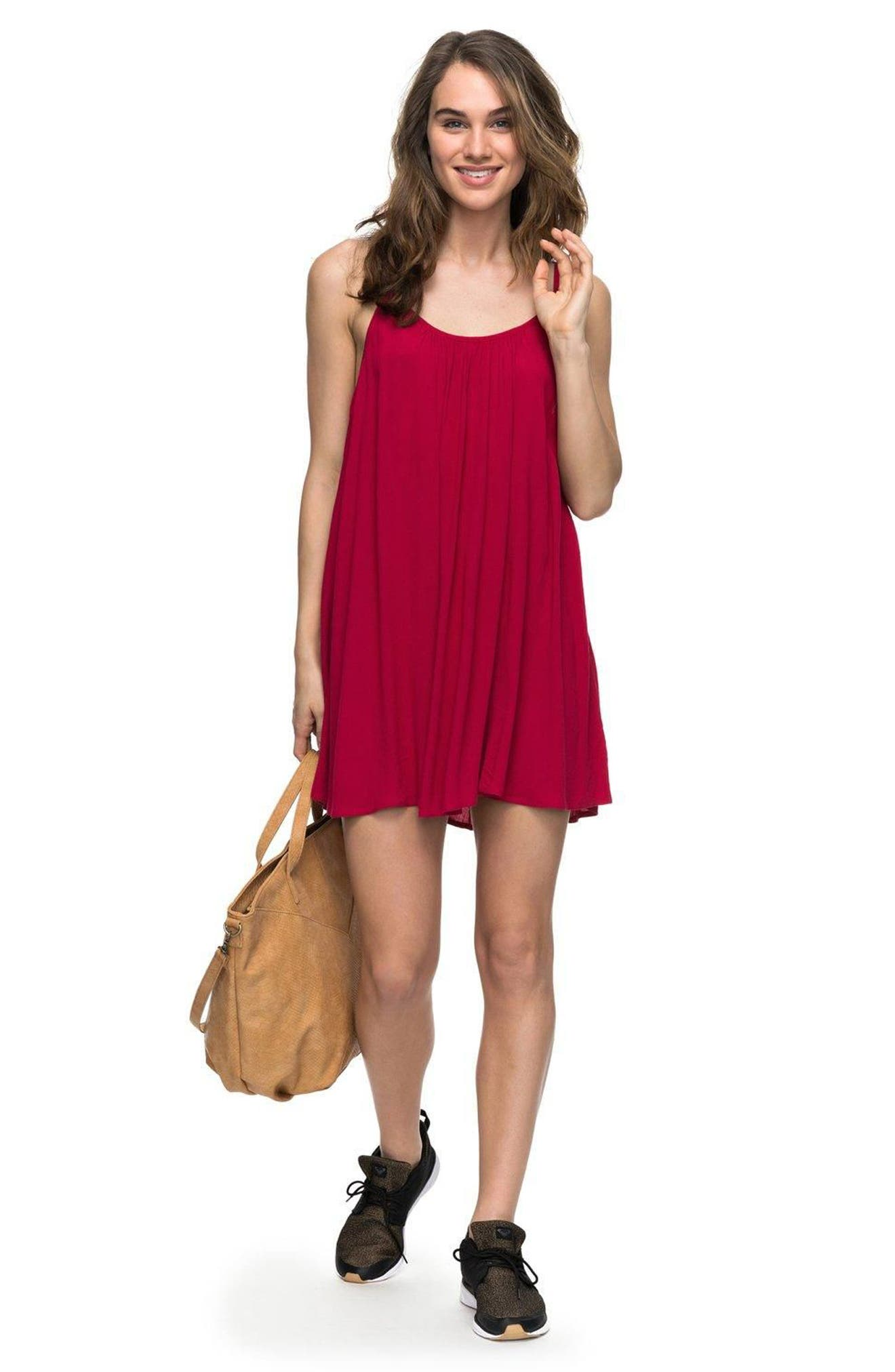 'Windy' Scoop Neck Shift Dress,                             Alternate thumbnail 3, color,                             623