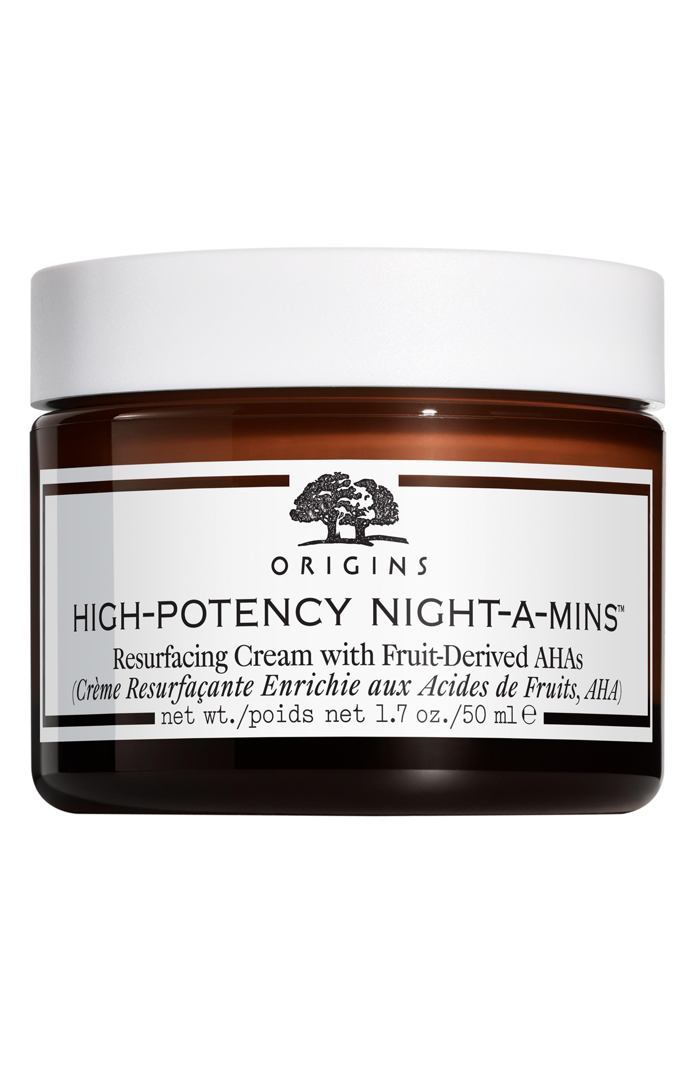 High-Potency Night-A-Mins<sup>™</sup> Resurfacing Cream,                             Main thumbnail 1, color,                             NO COLOR