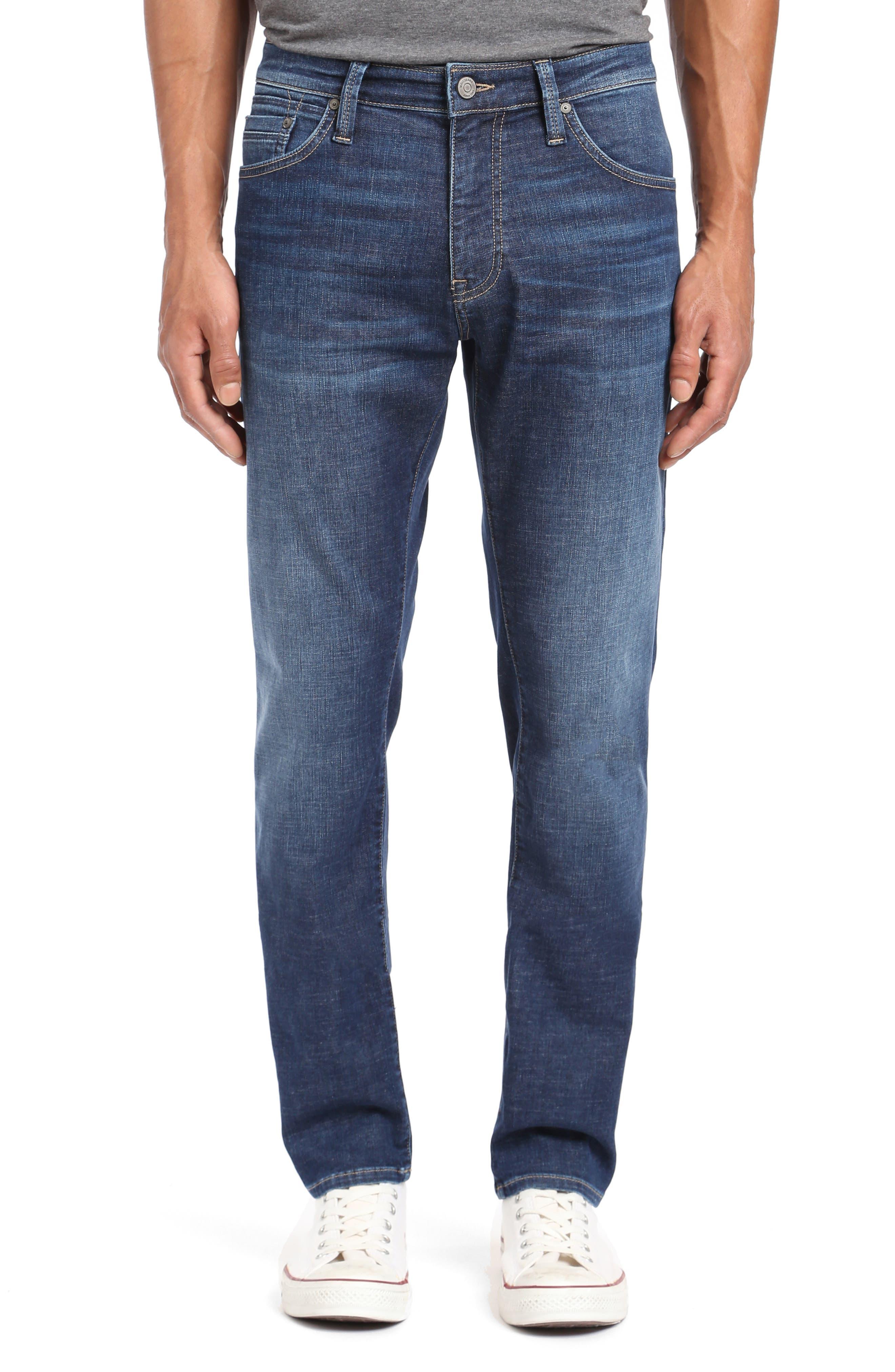 Jake Slim Fit Jeans,                             Main thumbnail 1, color,                             DARK BRUSHED CASHMERE