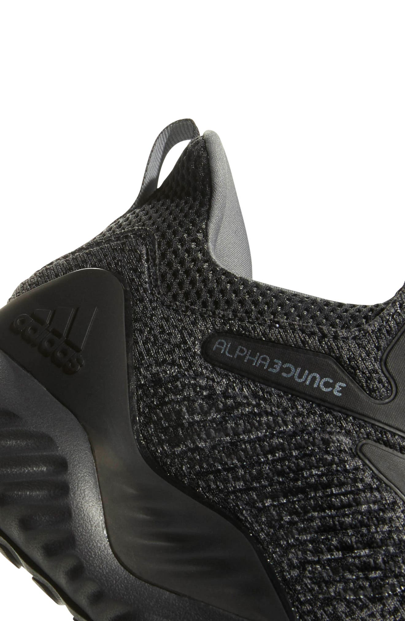 AlphaBounce Beyond Knit Running Shoe,                             Alternate thumbnail 7, color,                             099