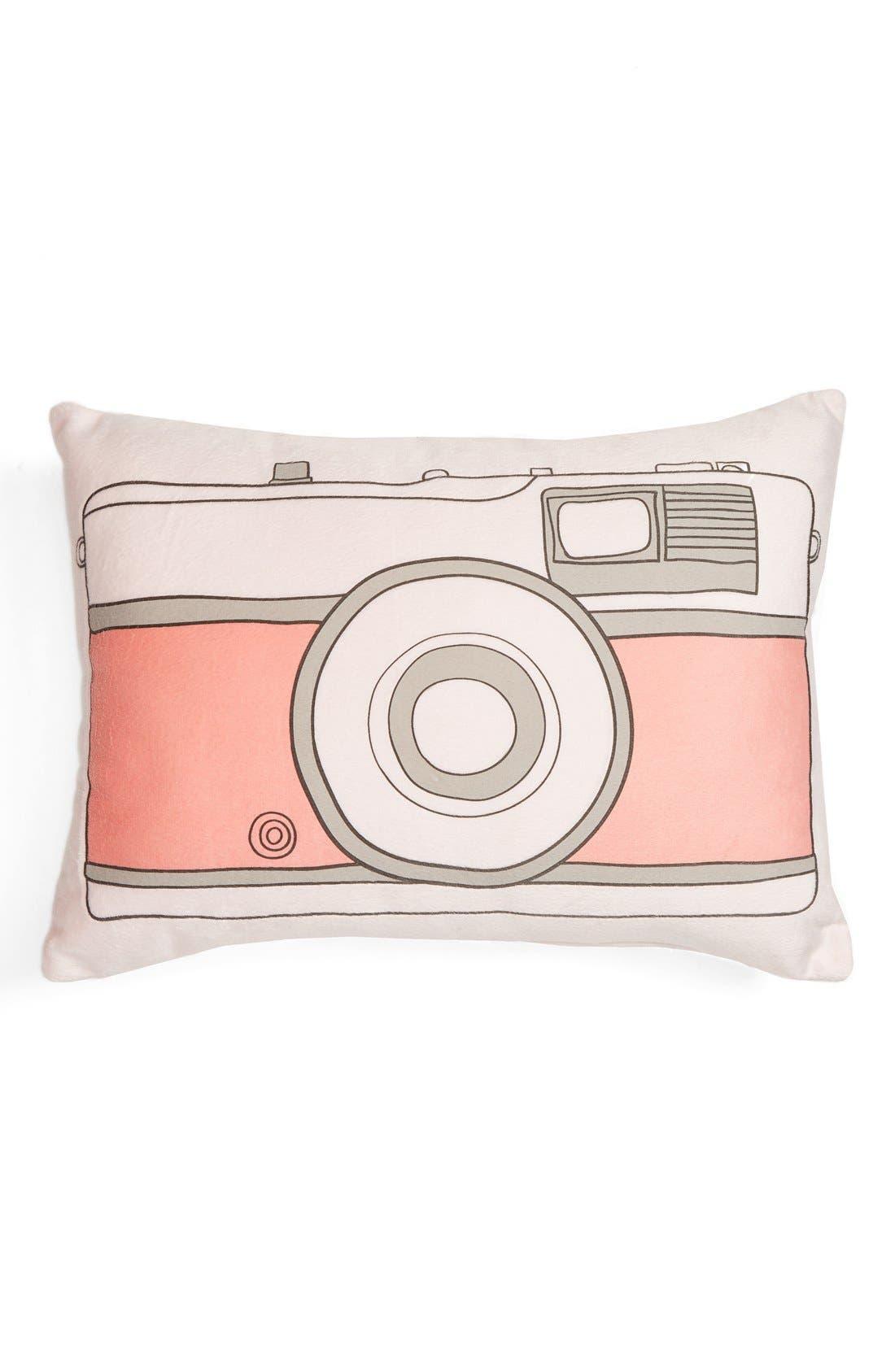 Capelli of New York Camera Pillow,                         Main,                         color, 690