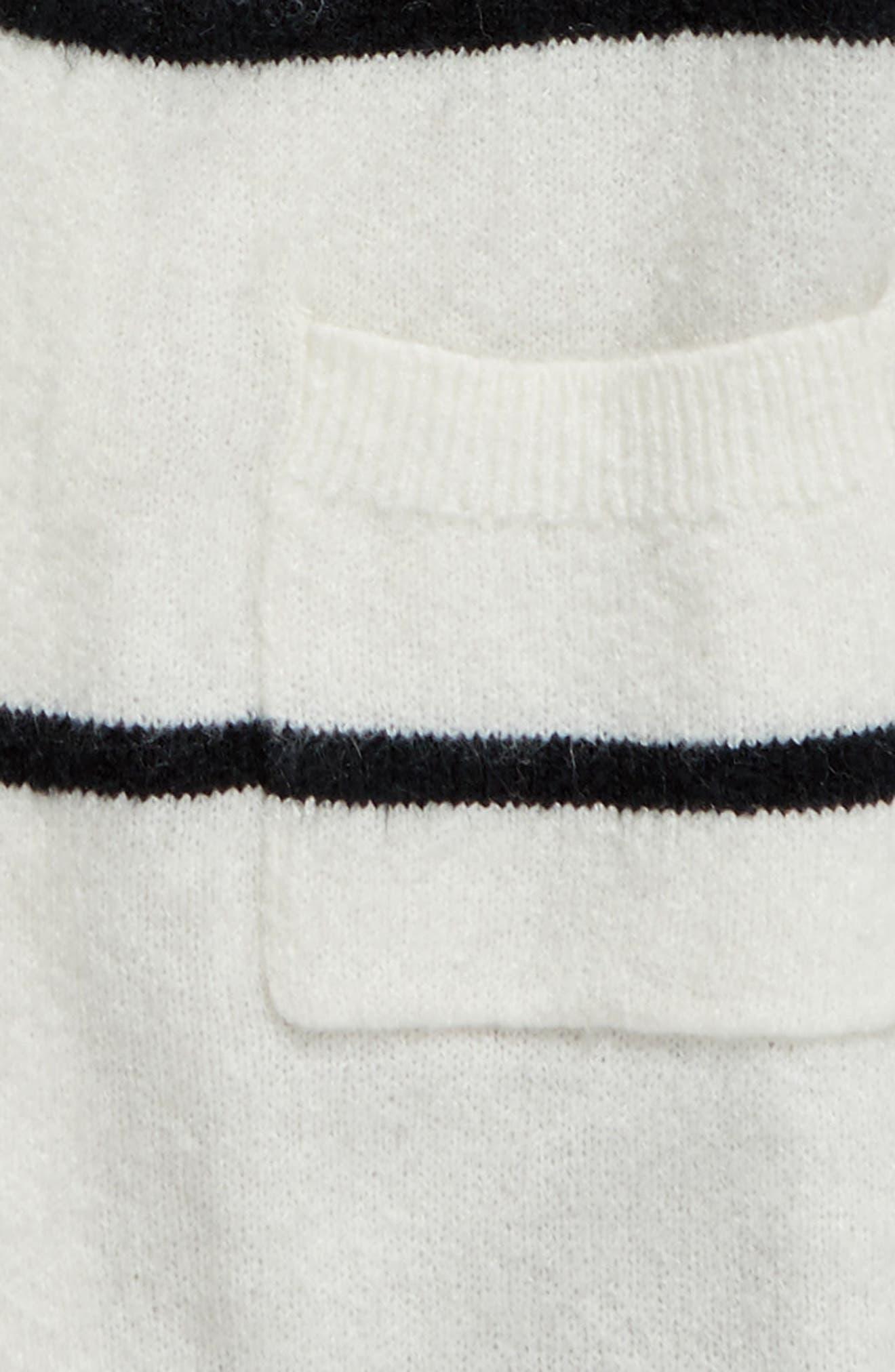 Open Stripe Cardigan,                             Alternate thumbnail 2, color,                             900