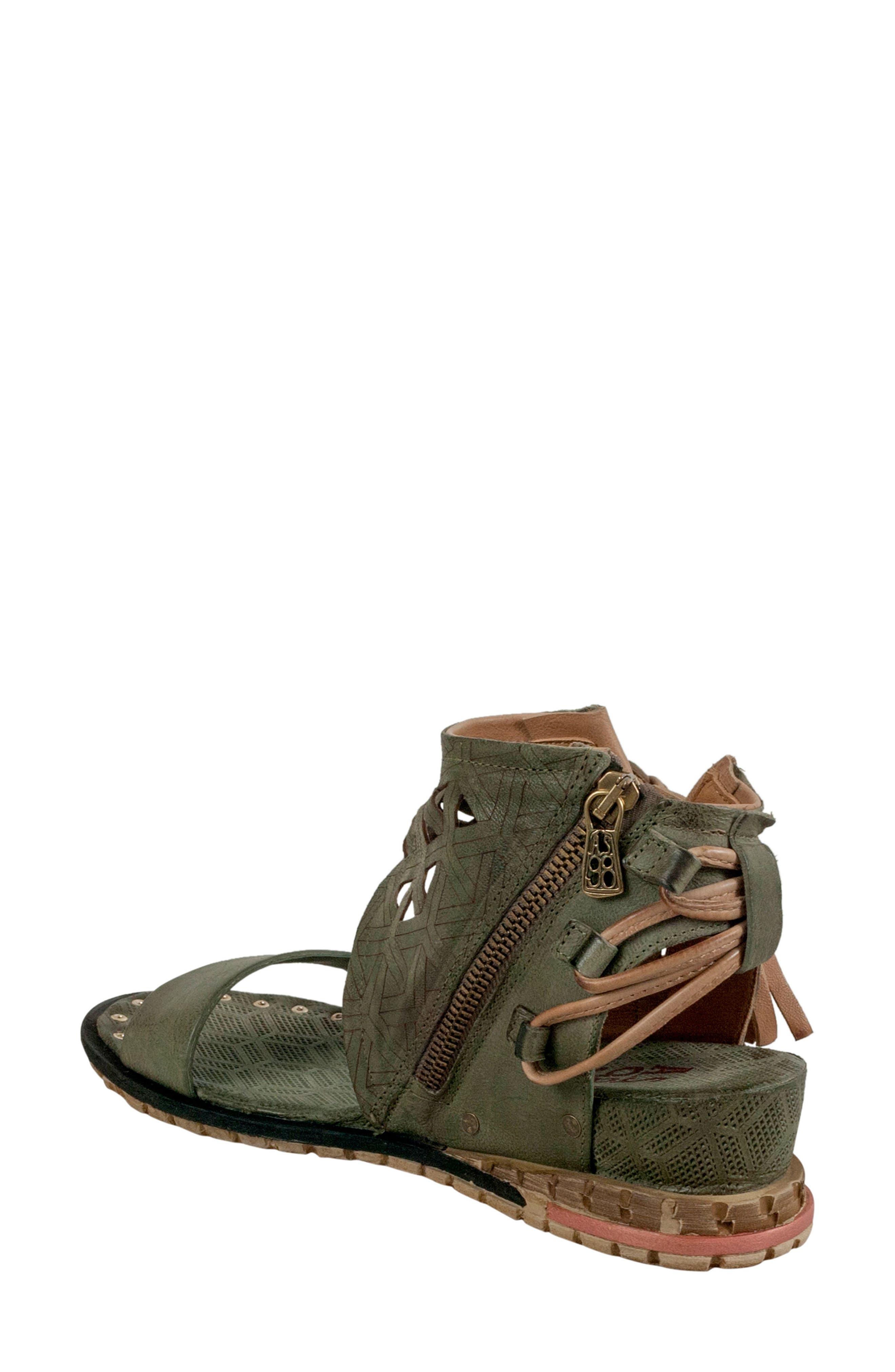 Petrona Ankle Shield Sandal,                             Alternate thumbnail 4, color,